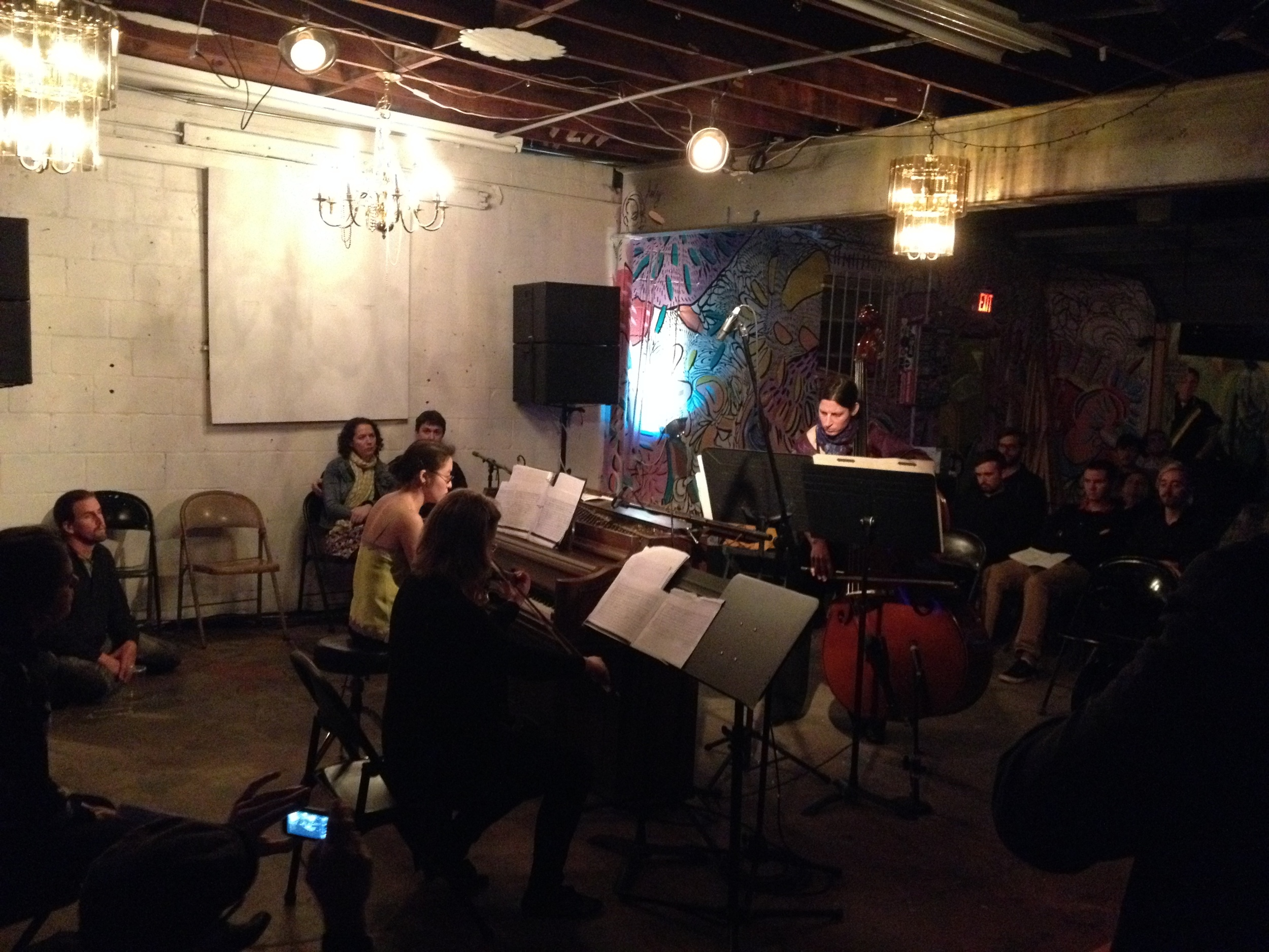 Hyperbolic Chamber Music 3: Strings and Hammers, February 2015.