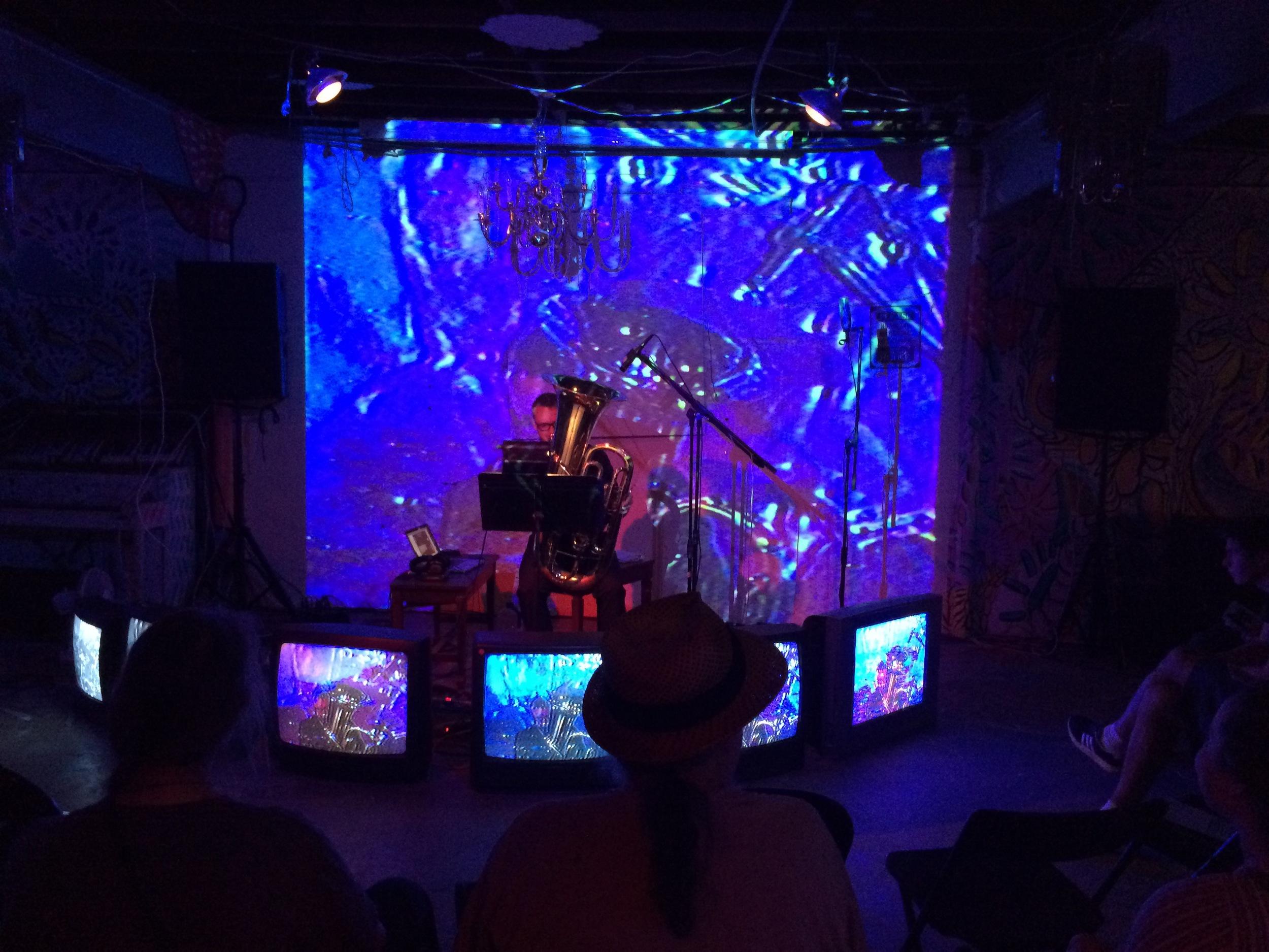 Hyperbolic Chamber Music 4: Brett Copeland, September 2015.