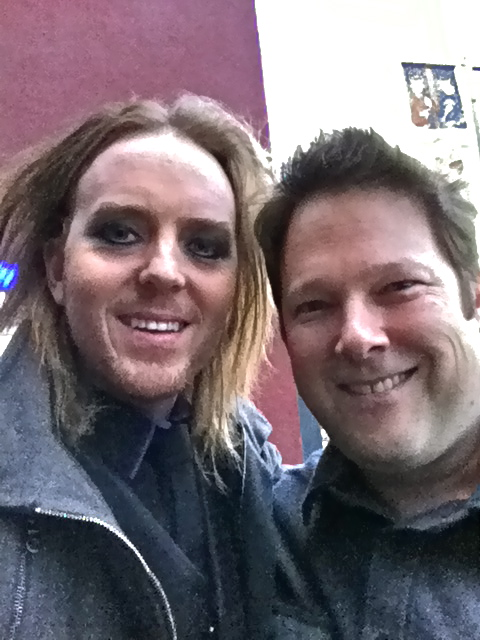 with Tim Minchin