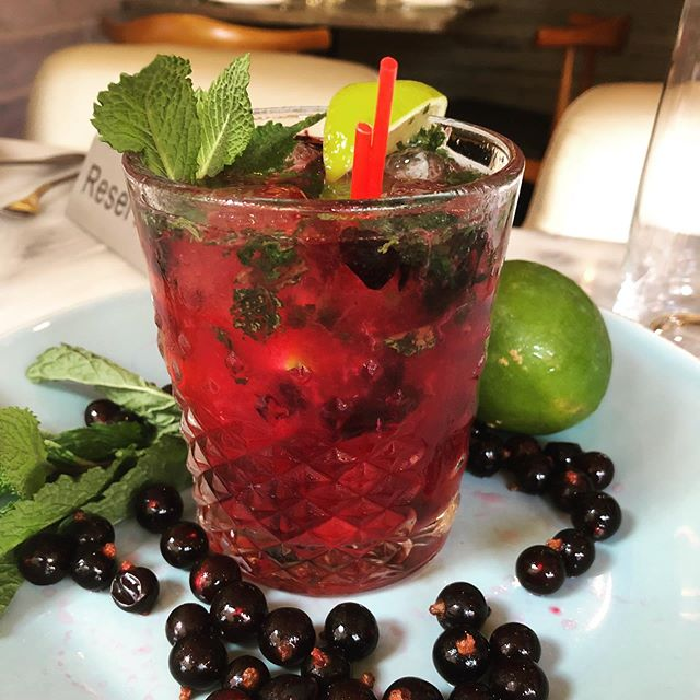 Blackcurrant Mojito ~ Refreshing, tart, sweet, everything you'll ever want in a summertime treat!