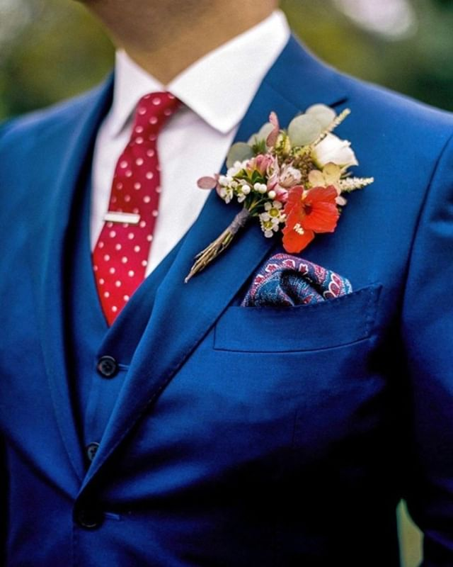 The best trend of this wedding season is lots of color!