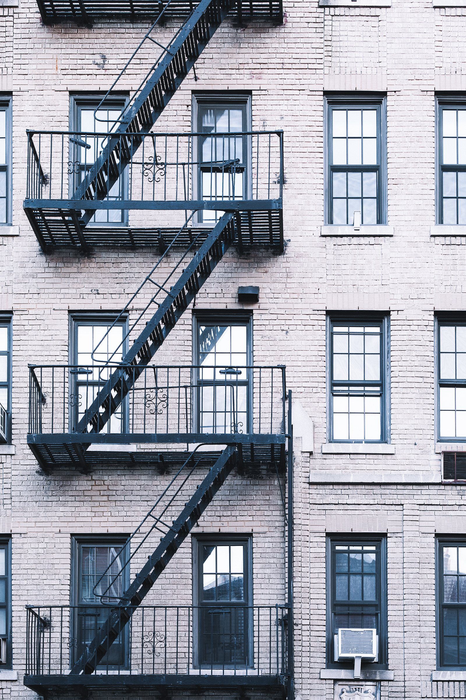 New York City Architecture / Staircase White / Travel Photography / Kelly Fiance Creative