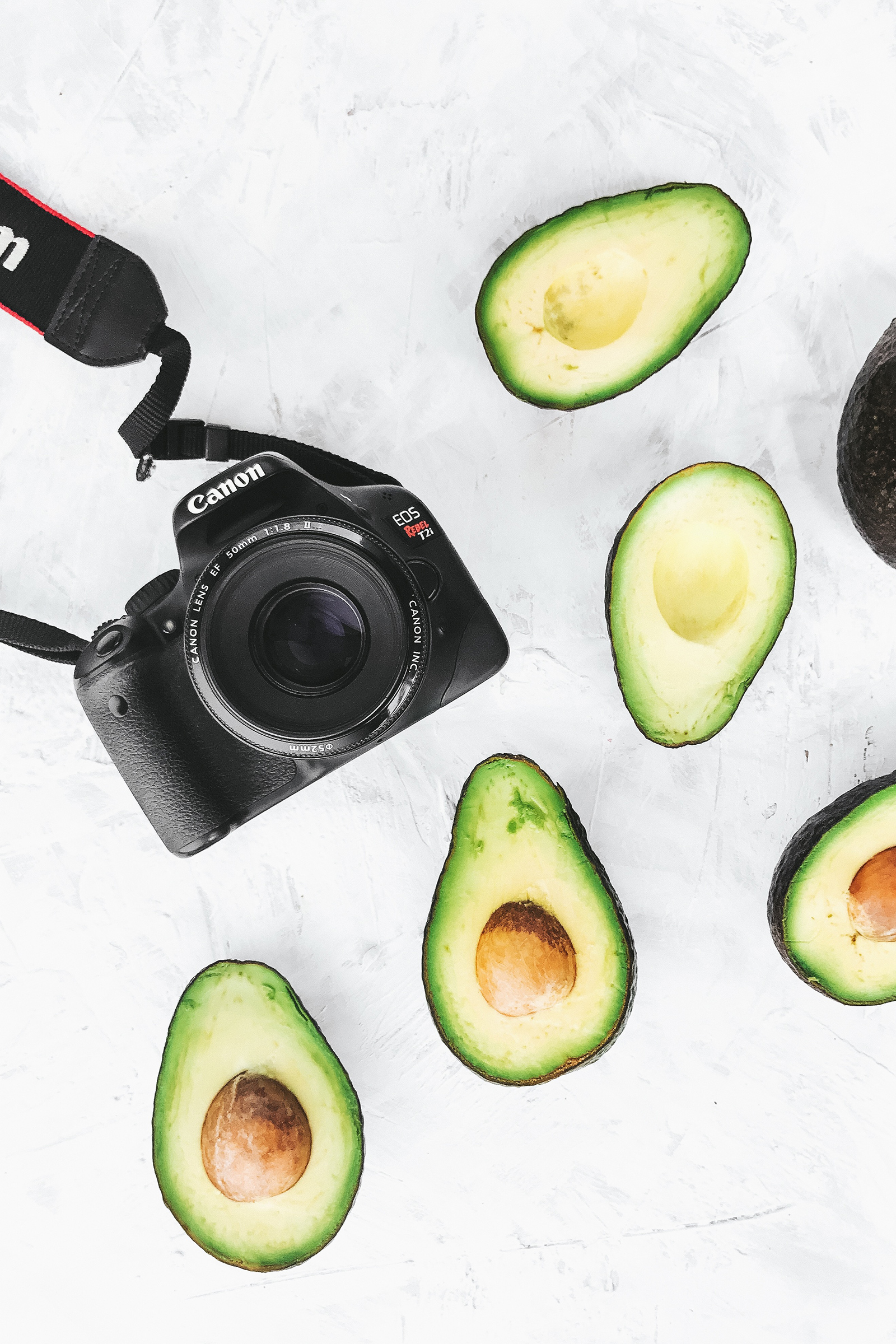 Food Photography / Food Styling / Avocados / Canon Camera / Kelly Fiance Creative