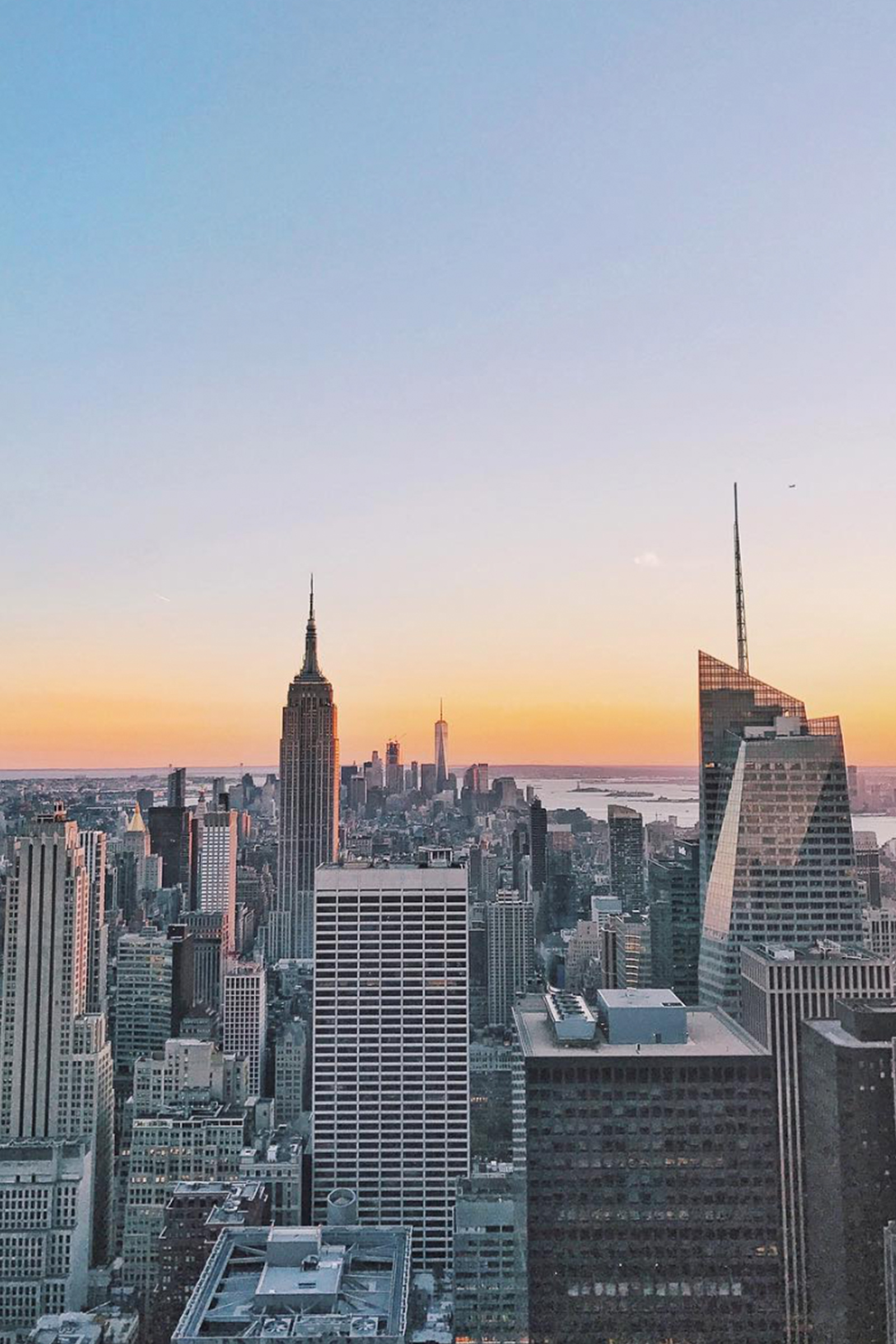 New York City Skyline / Empire State Building / Sunset / Travel Wanderlust Photography / Kelly Fiance Creative