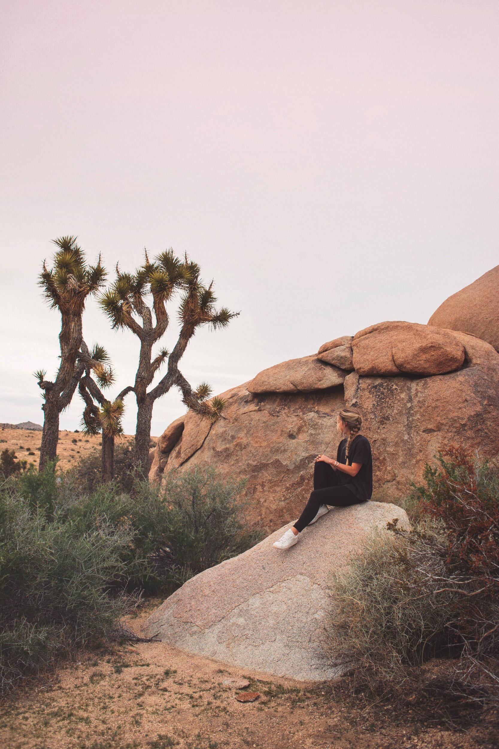 Joshua Tree Yoga Retreat Photography