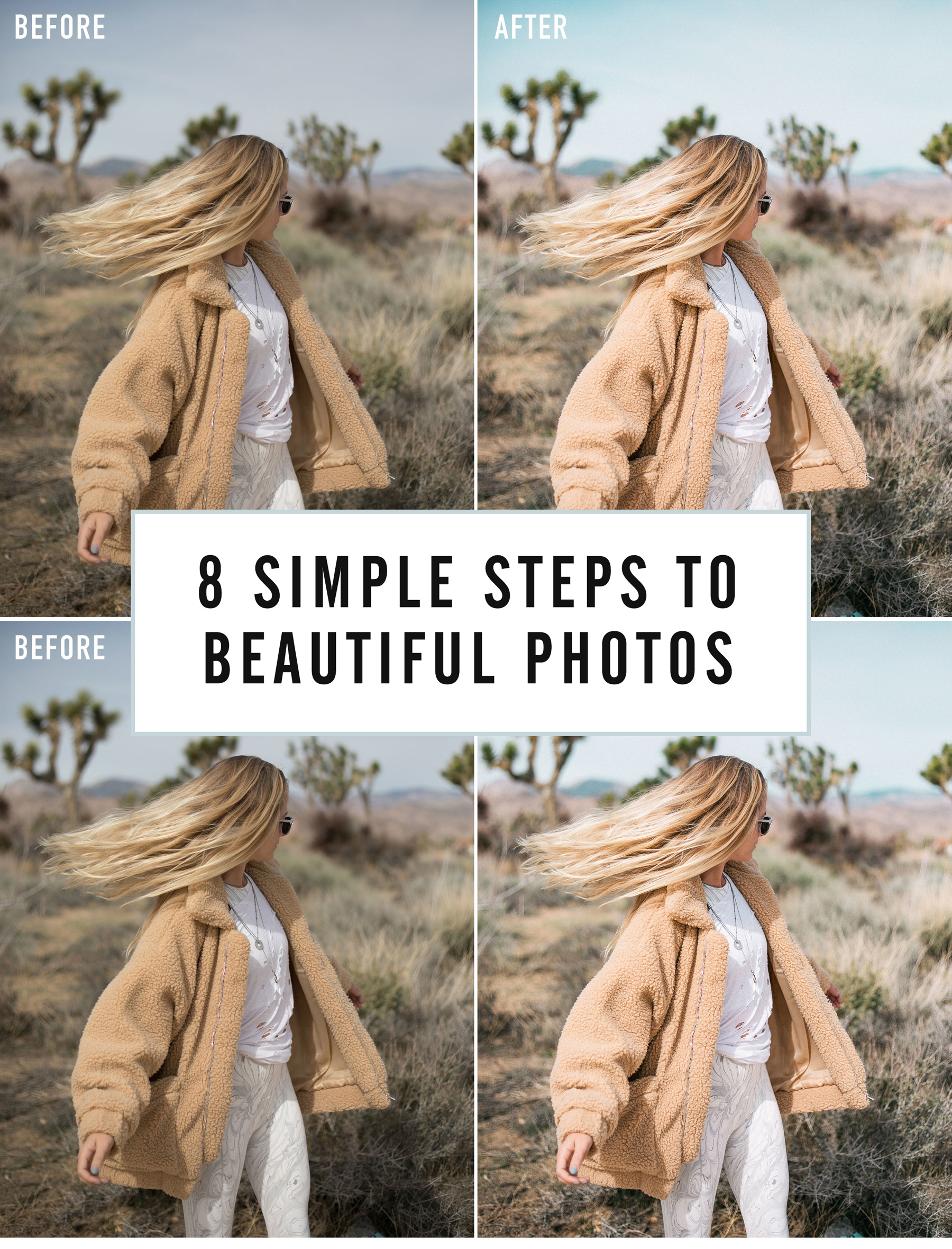 8 Simple Steps to Beautiful Photo Edits