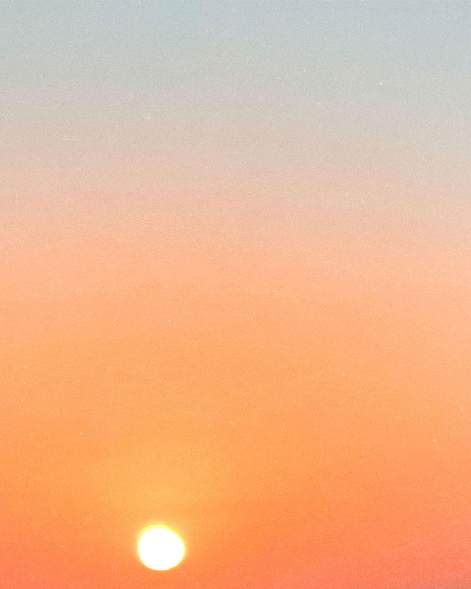 Sunset Gradient Colors Travel Photography / Dubai Travel Tips