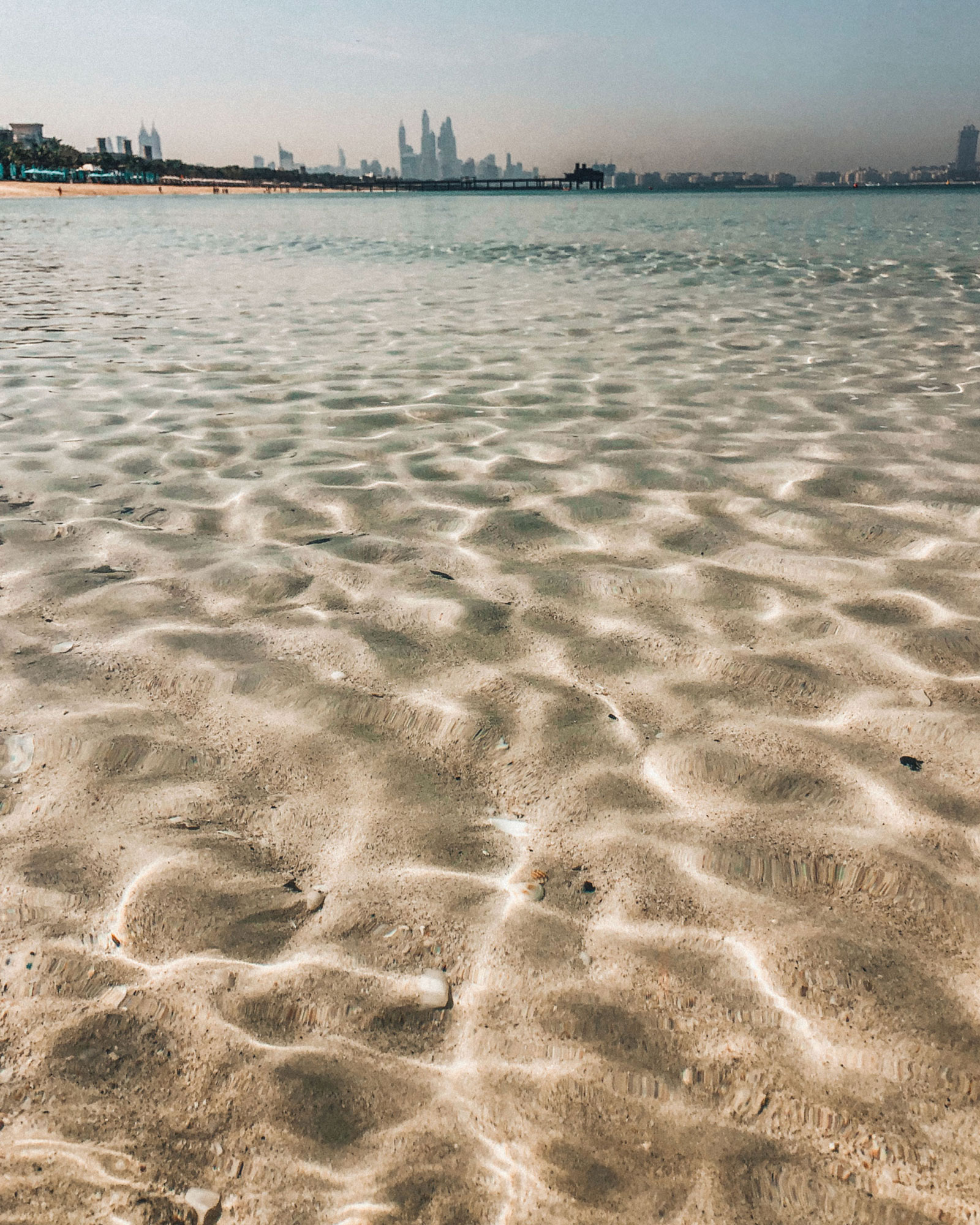 Ocean Water Texture Travel Photography / Dubai Travel Tips
