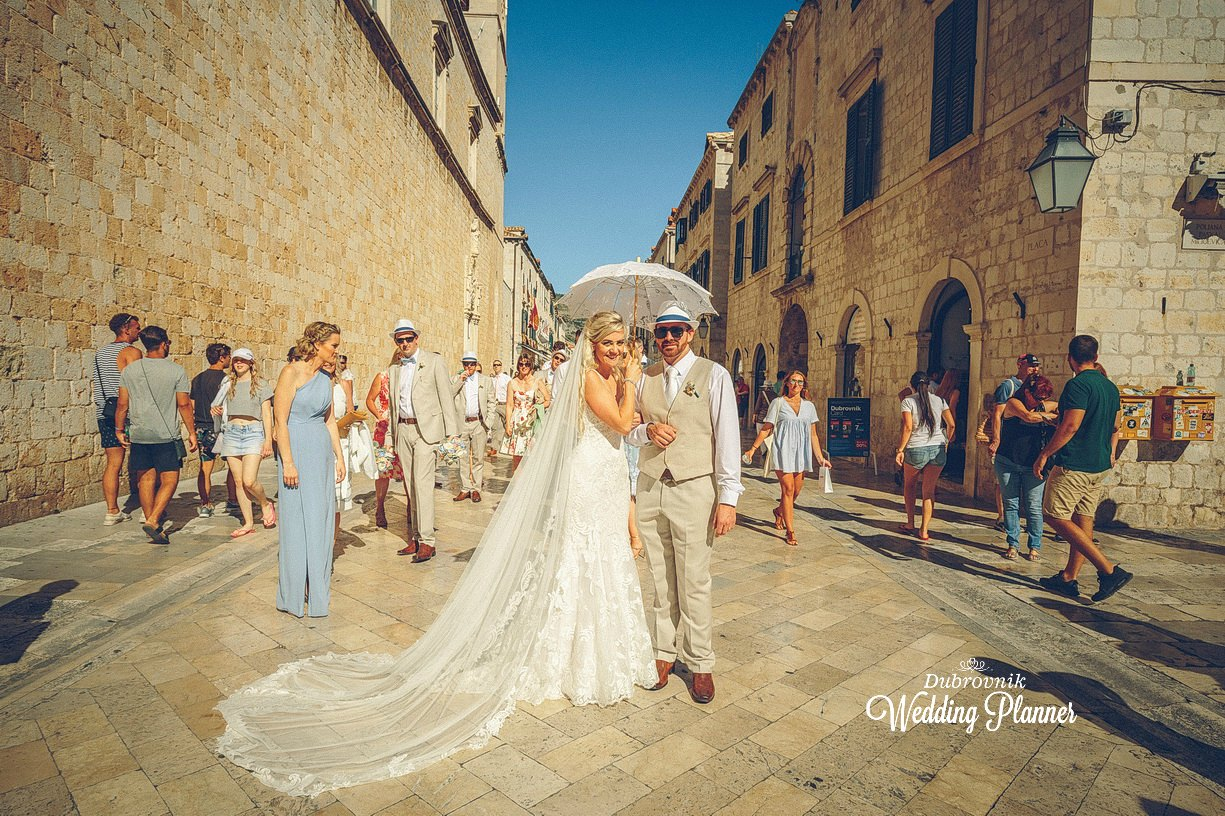 The Beauty of historical Old City of Dubrovnik -