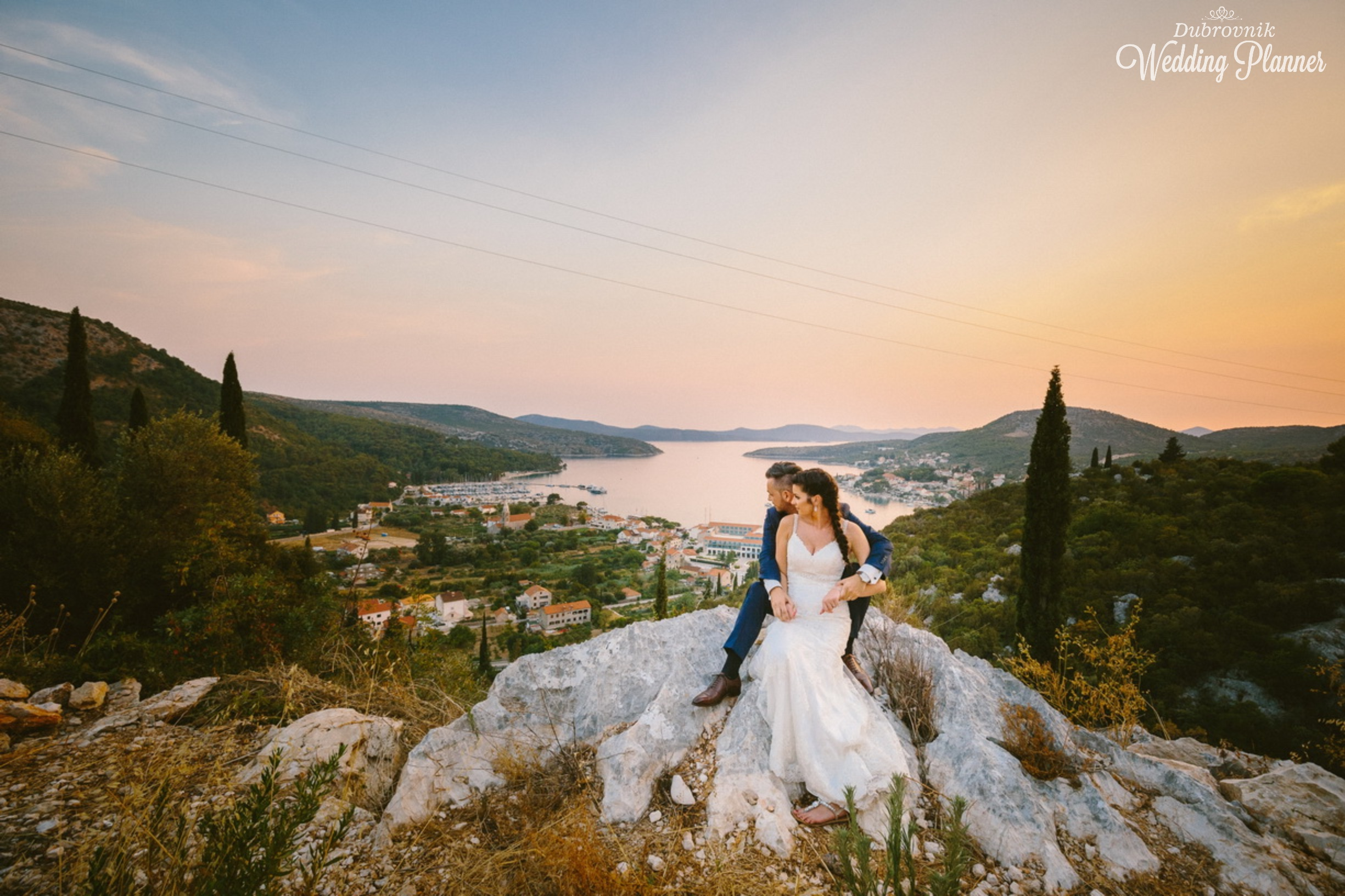 Dajana & Sebastian - To show appreciation to each other, they had two ceremonies. First in front of God as witness, and after they had an intimate wedding at Park with amazing view where they could share their vows in the most romantic way. August 2017
