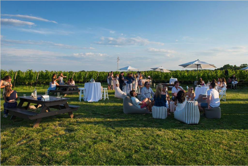 The Lawn at Shinn Estate Vineyards, North Fork, Long Island