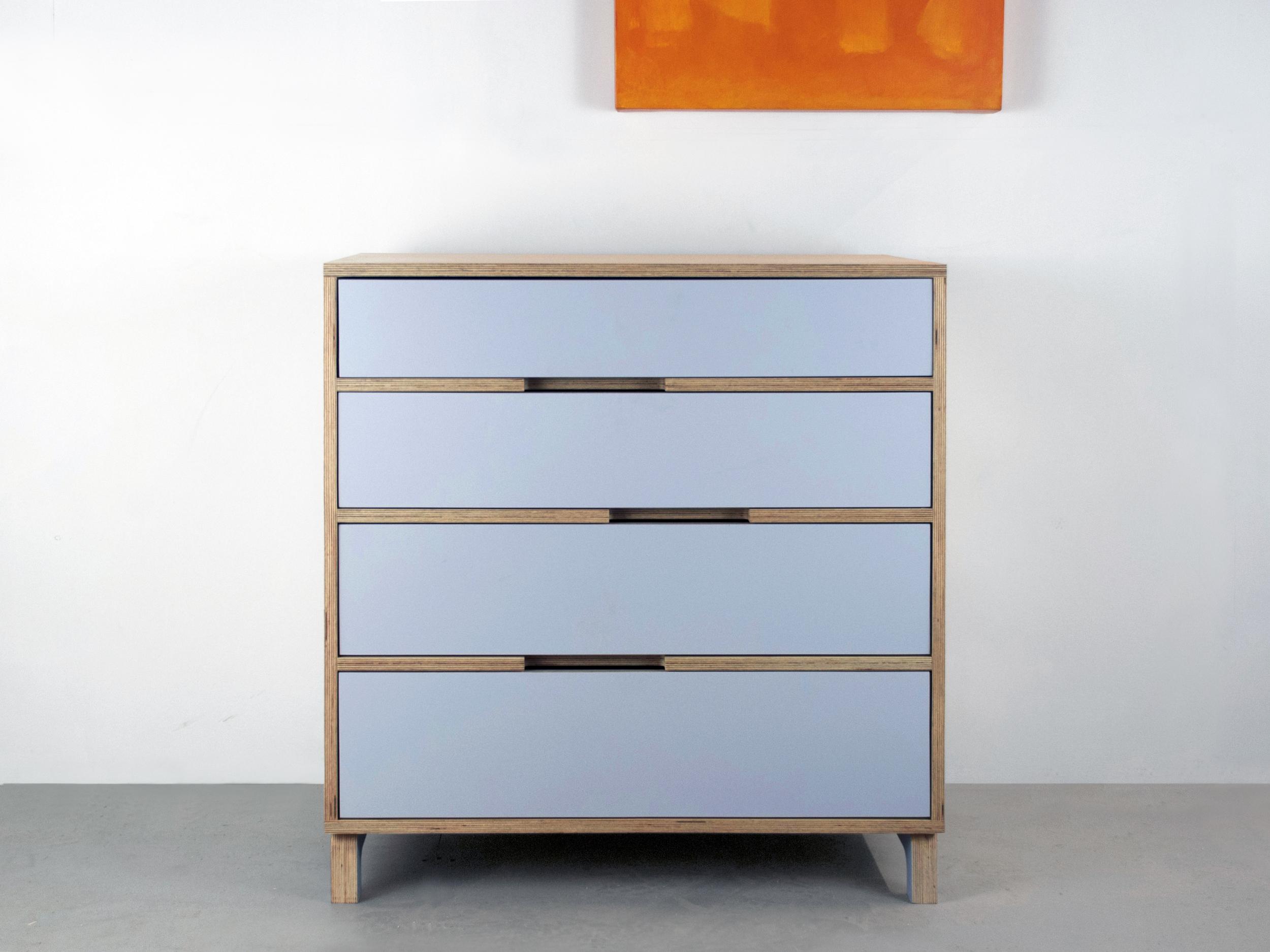 Modern baltic birch dresser