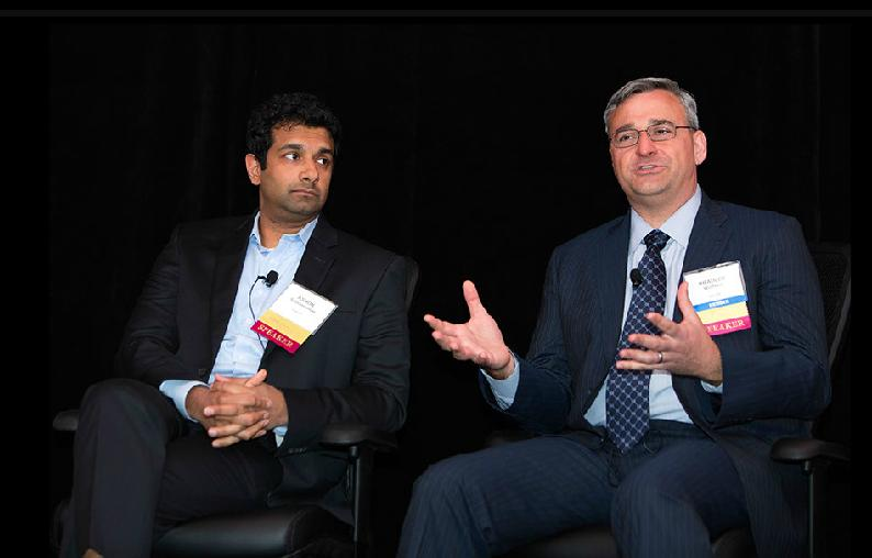 Ashok Subramanian (Co-Founder and CEO of Liazon), Brad Wolfsen (Executive Director of Exchange Solutions at bswift)