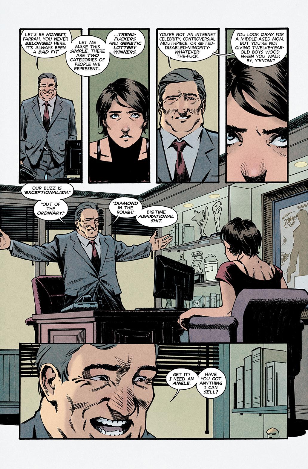GLITTERBOMB #1 PAGE 1 IMAGE COMICS