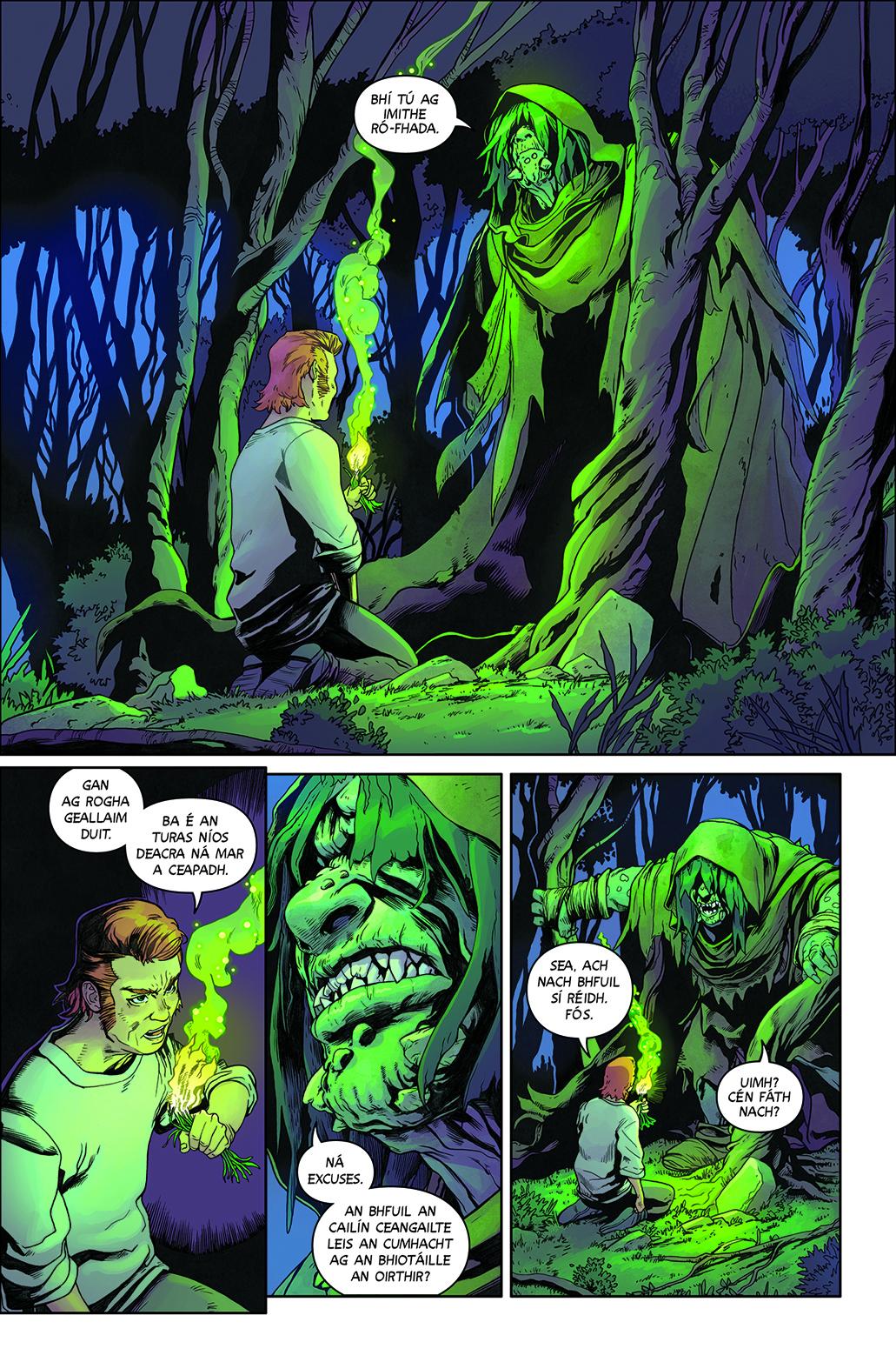 WAYWARD #16 PAGE 20 IMAGE COMICS
