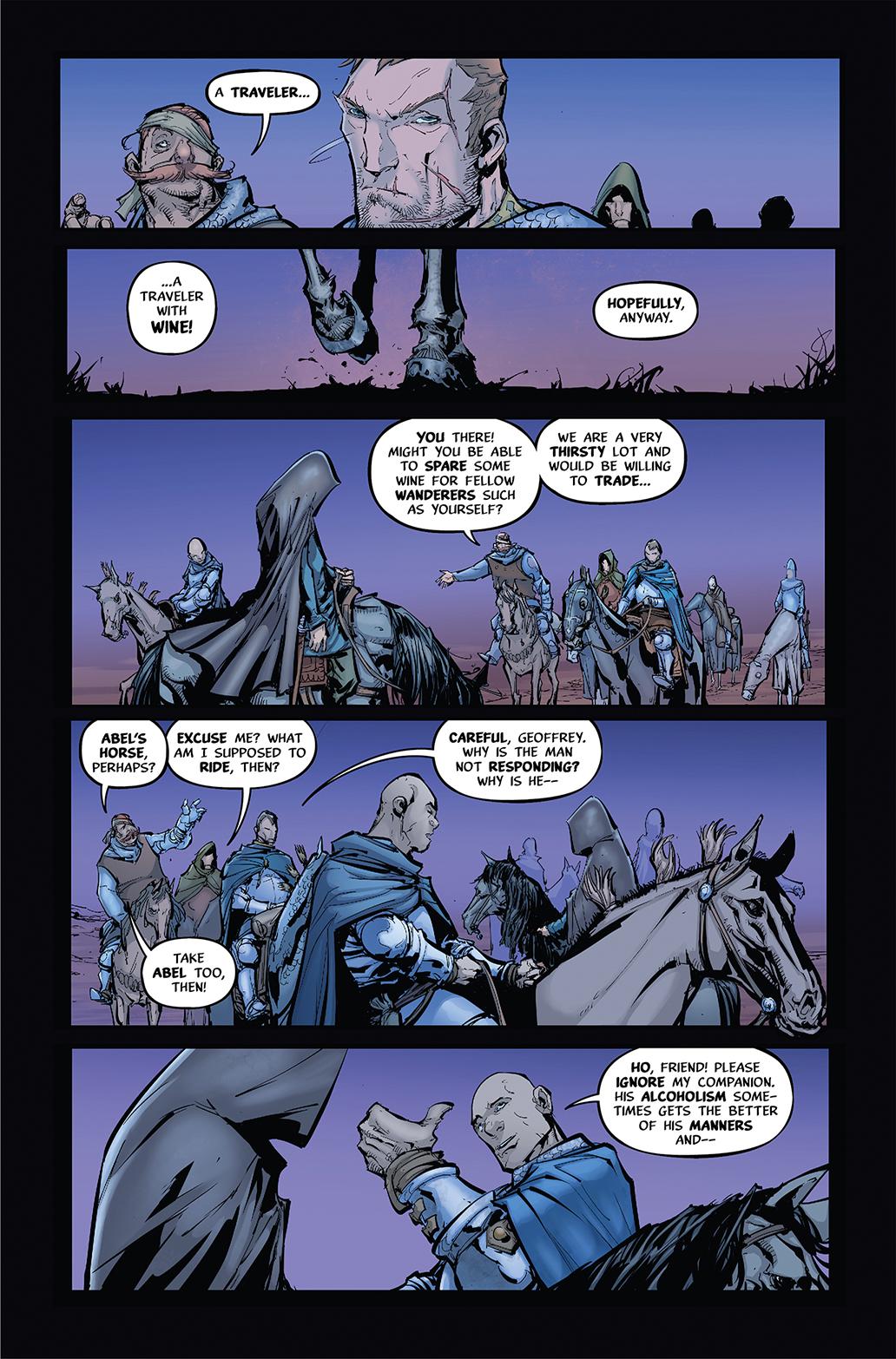 PESTILENCE #1 PAGE 14 AFTERSHOCK COMICS