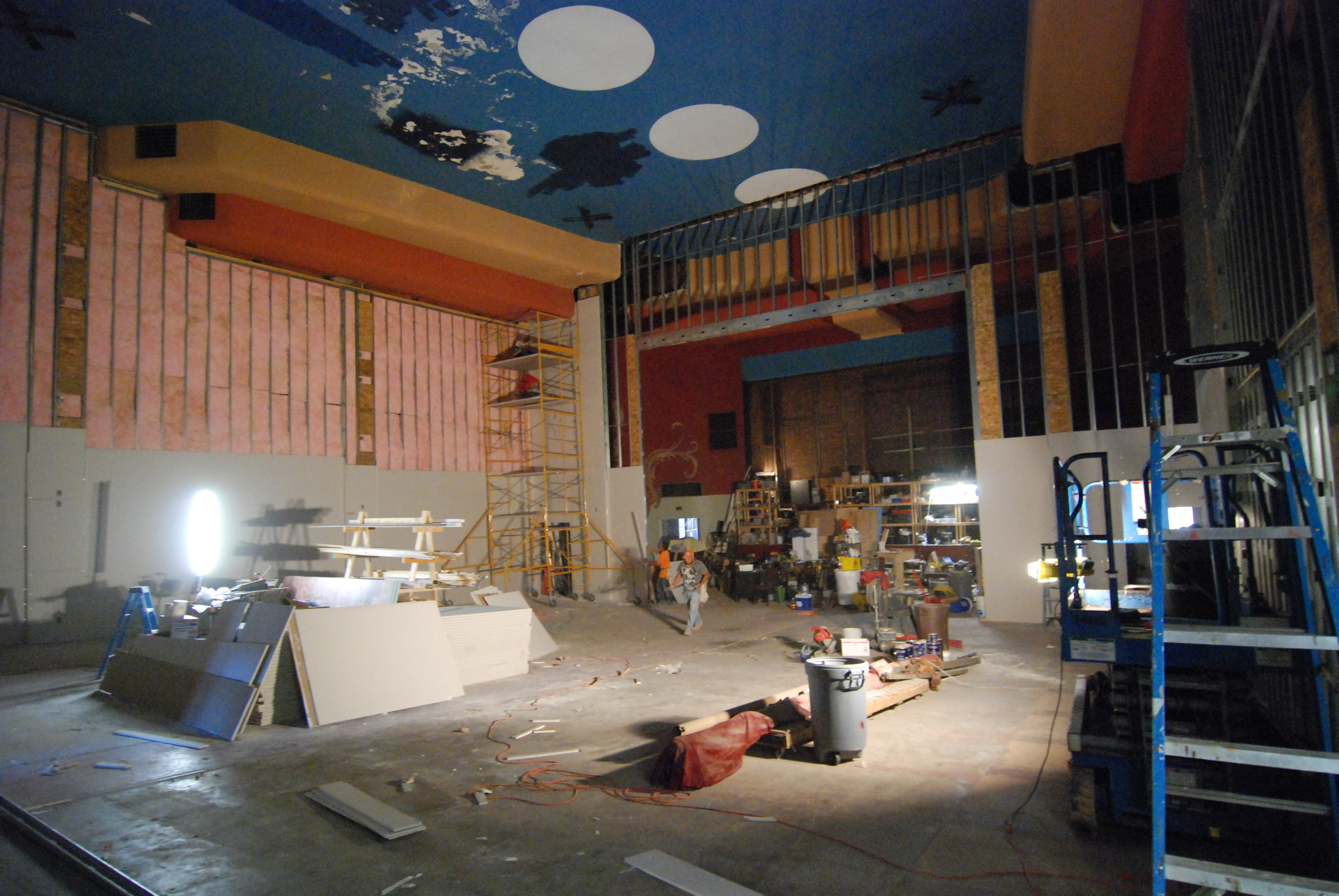 Midway day on of Crazy Drywall Madness