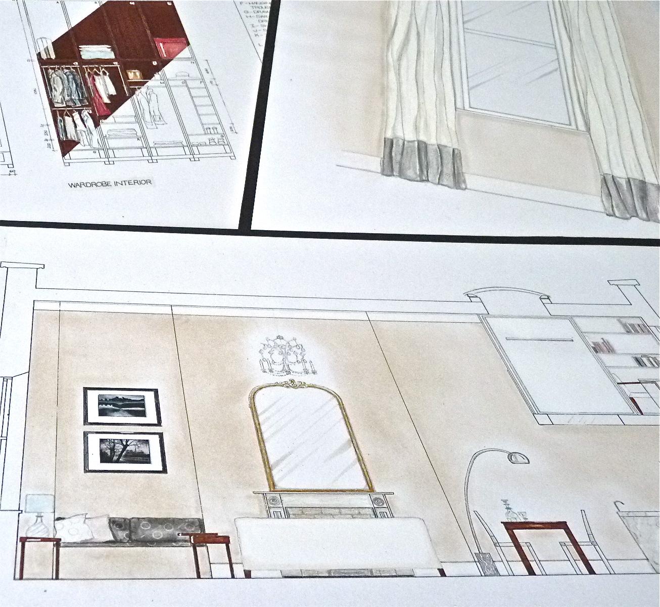 Parisian Apartment Rendering | www.interiorsmatter.com