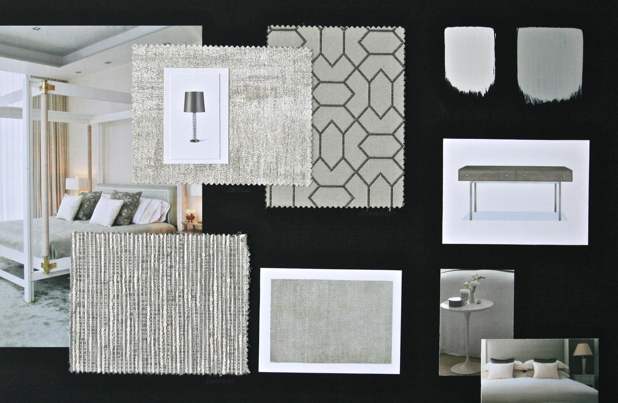 Master Bedroom Design Board | www.interiorsmatter.com