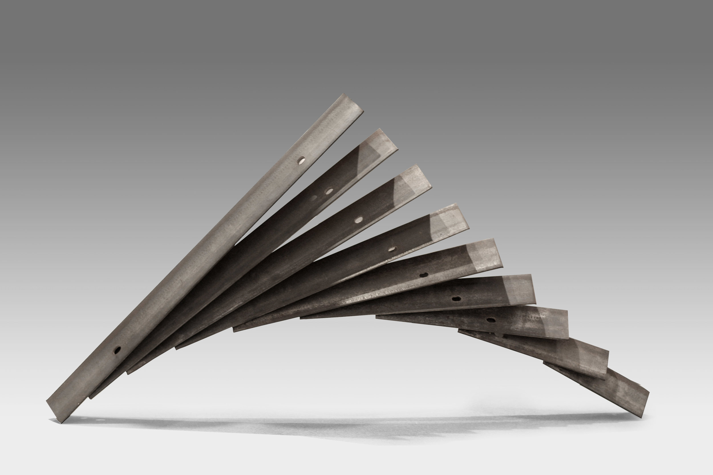 "$2700 - Gravity, 28""x40""6"", Steel"