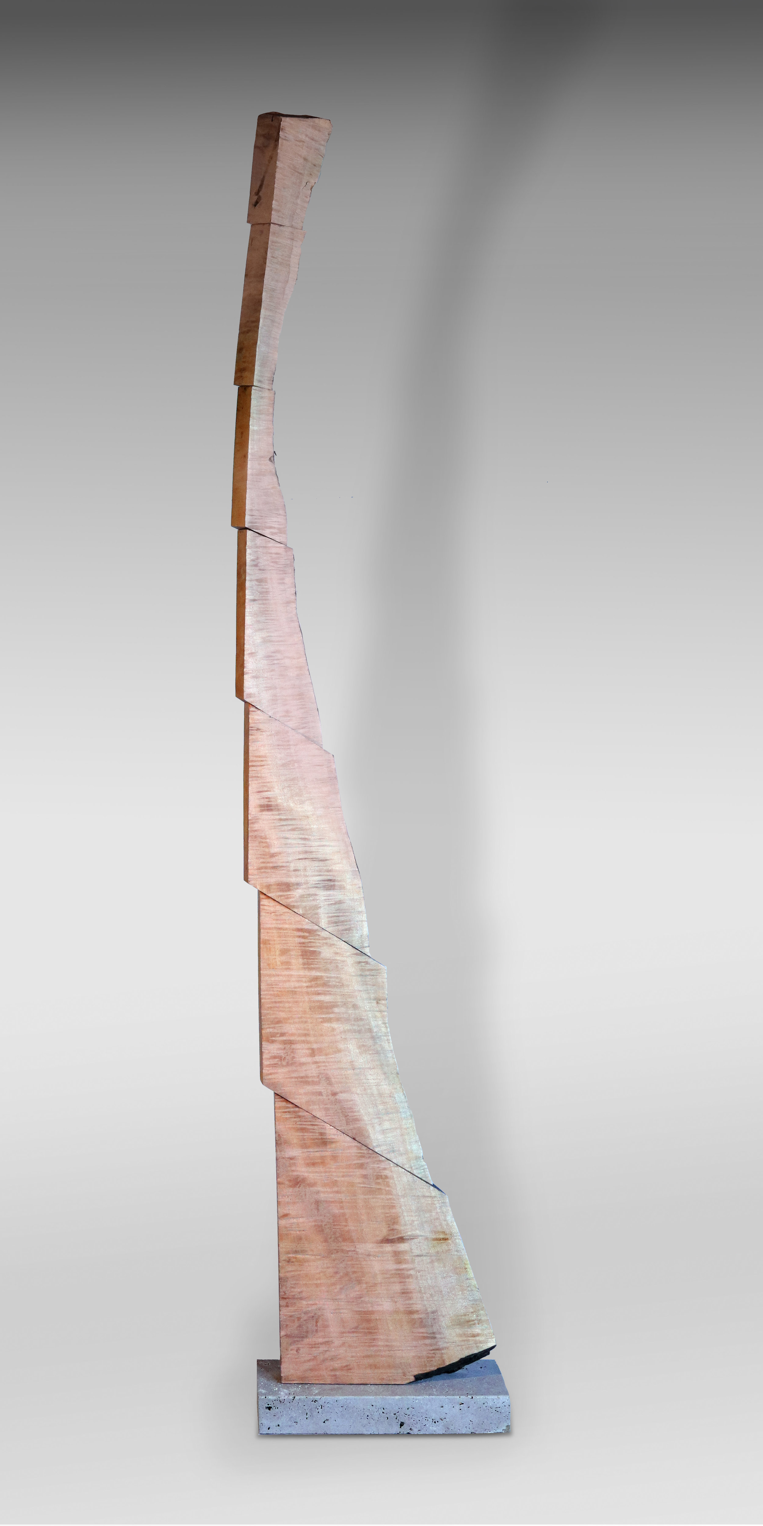 "Copy of $5600 - Ascent, 18""x8""x85"", Maple & Stone"