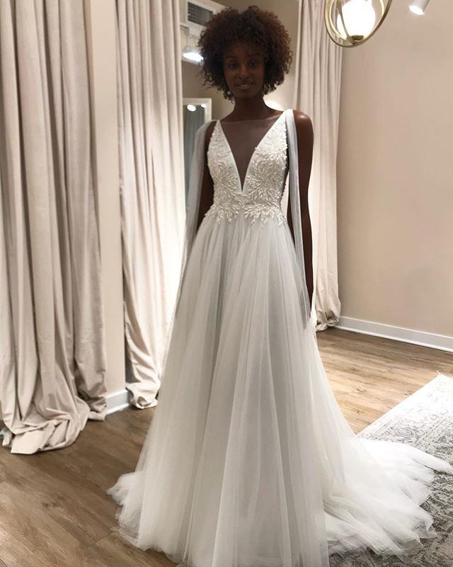 Ethereal bridal looks c/o @jennyyoonyc.