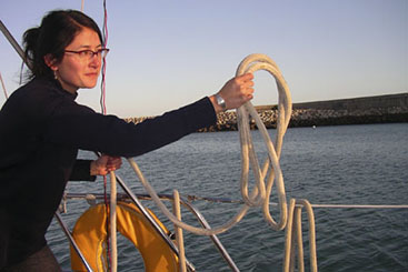 One of NYCs top women sailors
