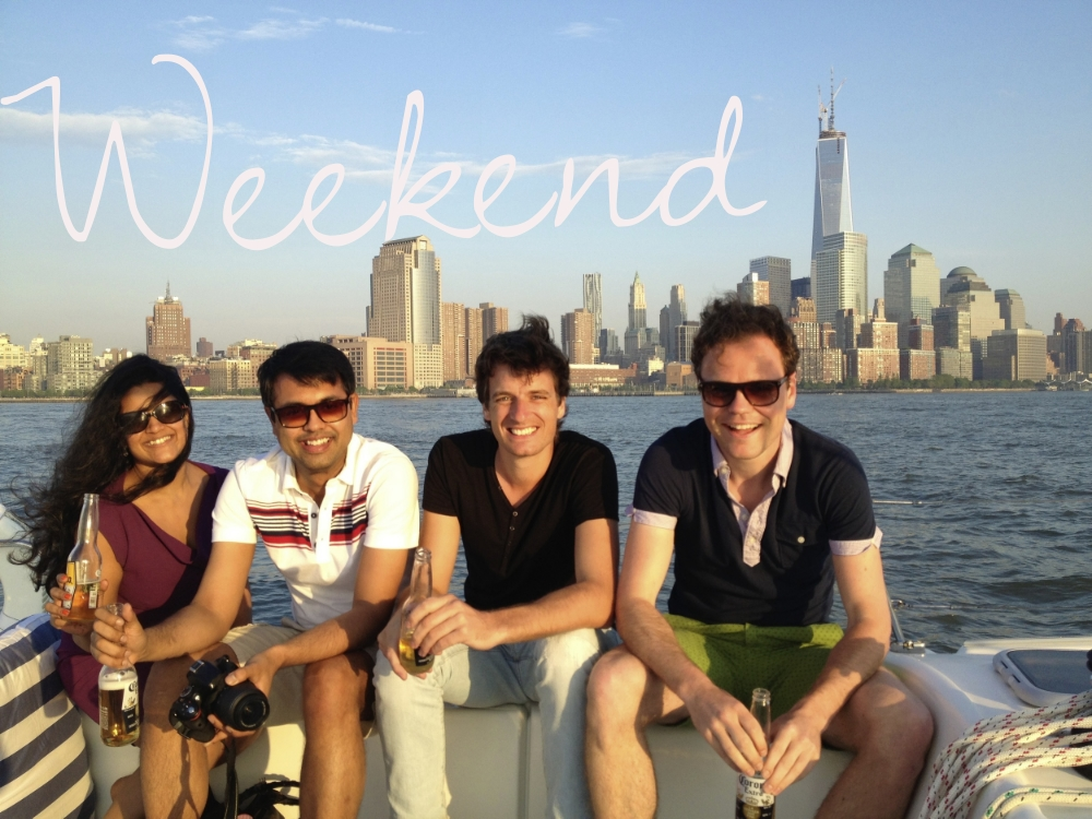 Weekend Sailboat Rental NYC
