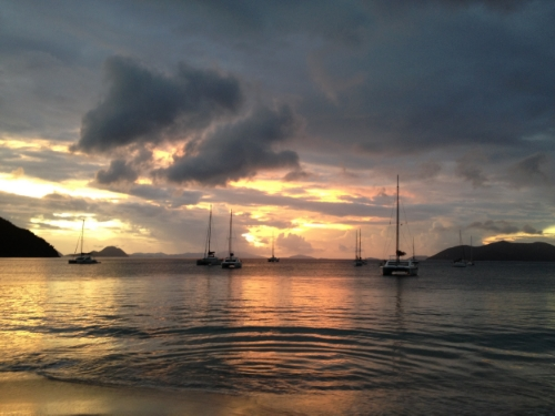 BVI Winter Sailing from NYC