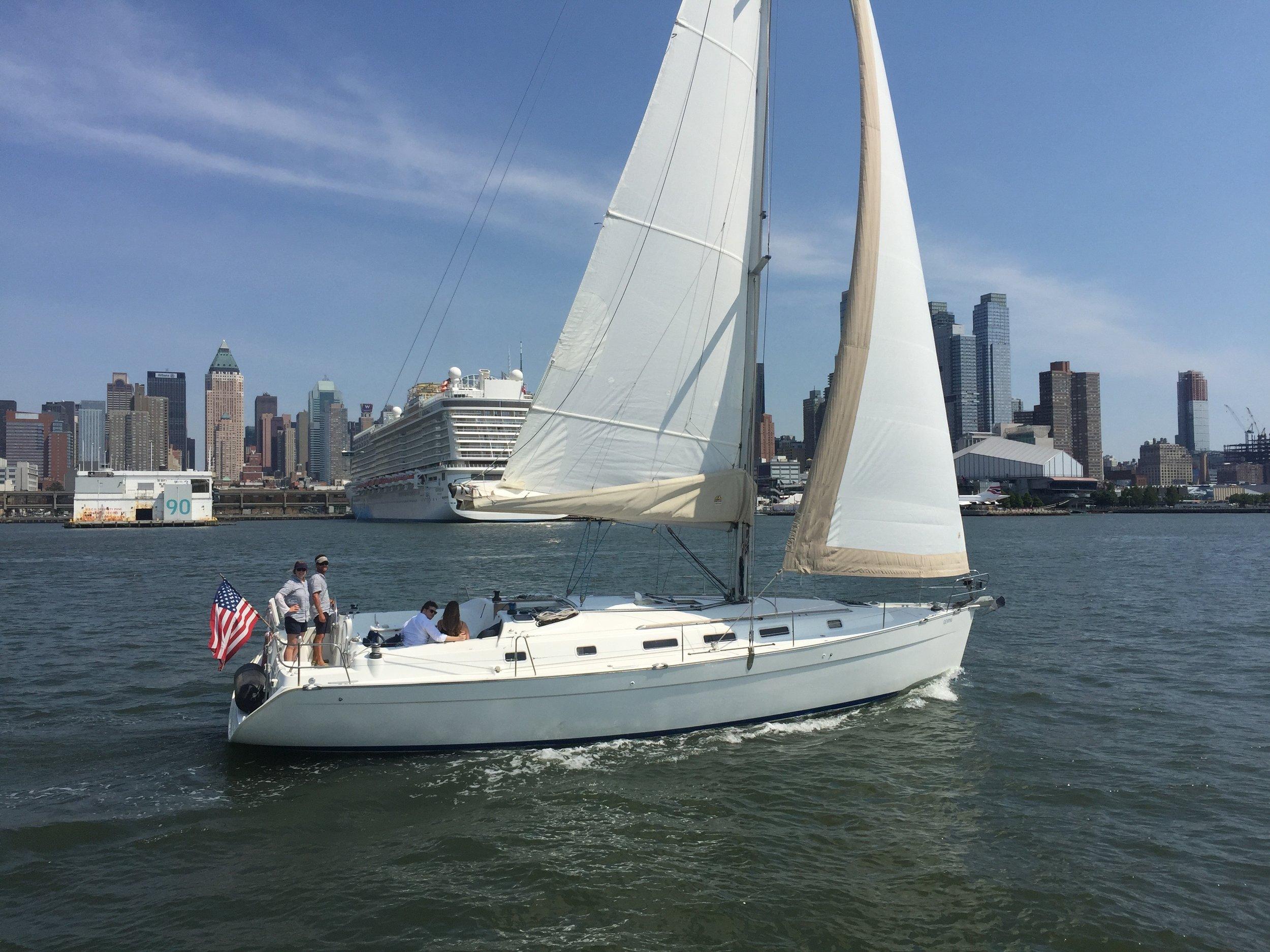Hudson River Sailboat Rental