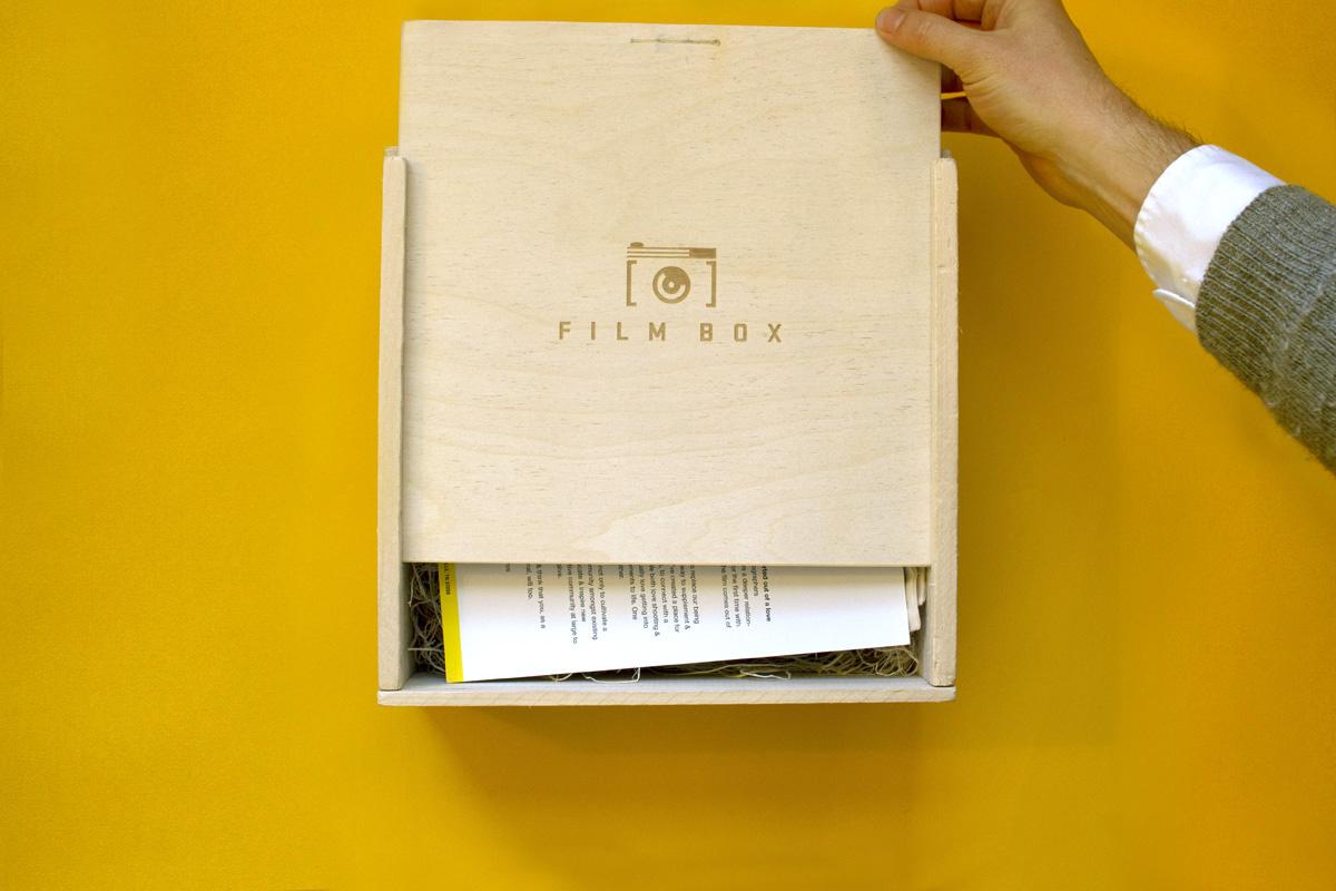 opening film box mailer kit