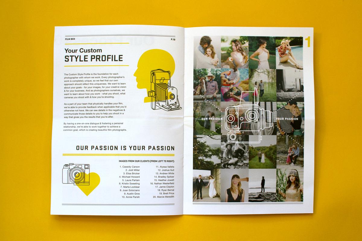 Editorial Design, Film Box, Article Two