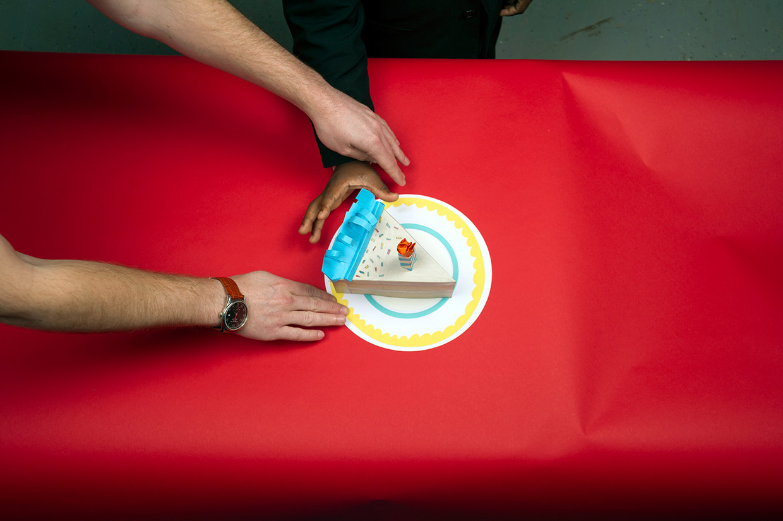 kid-president-cake-slice-hand-photo-shoot