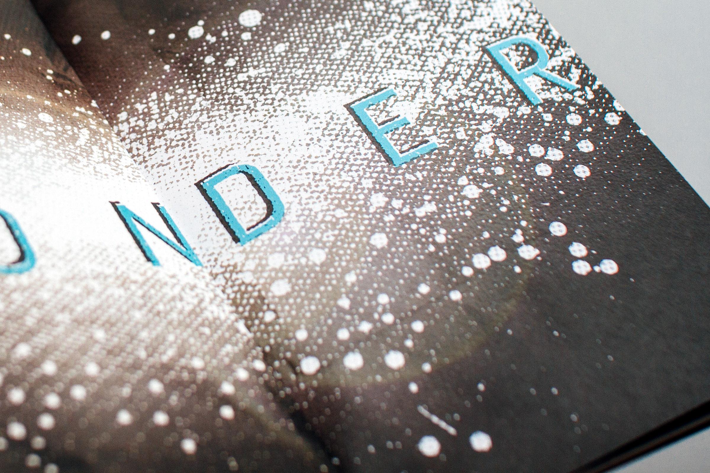wonder, stars and custom lettering detail
