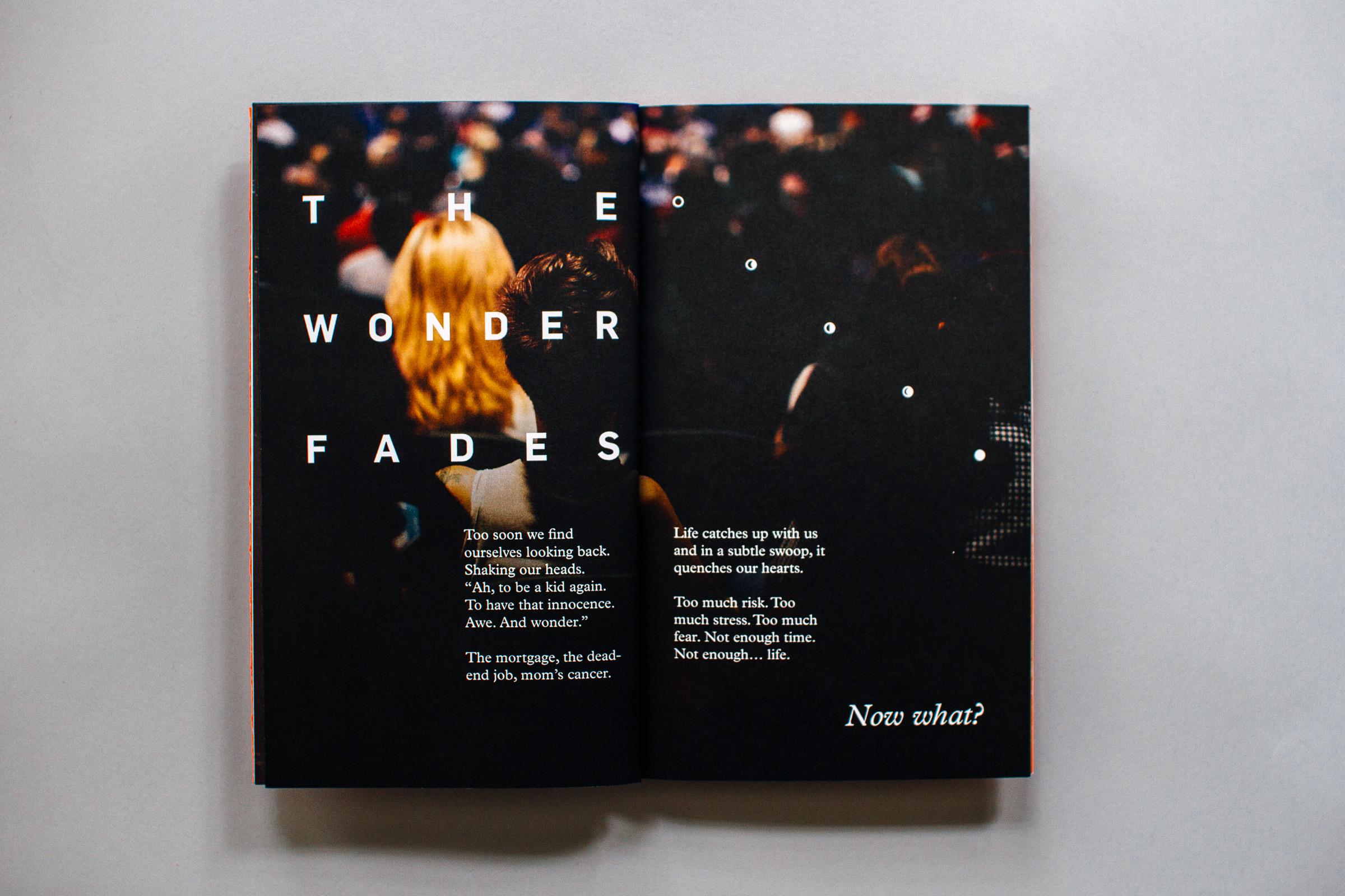 the wonder fades spread