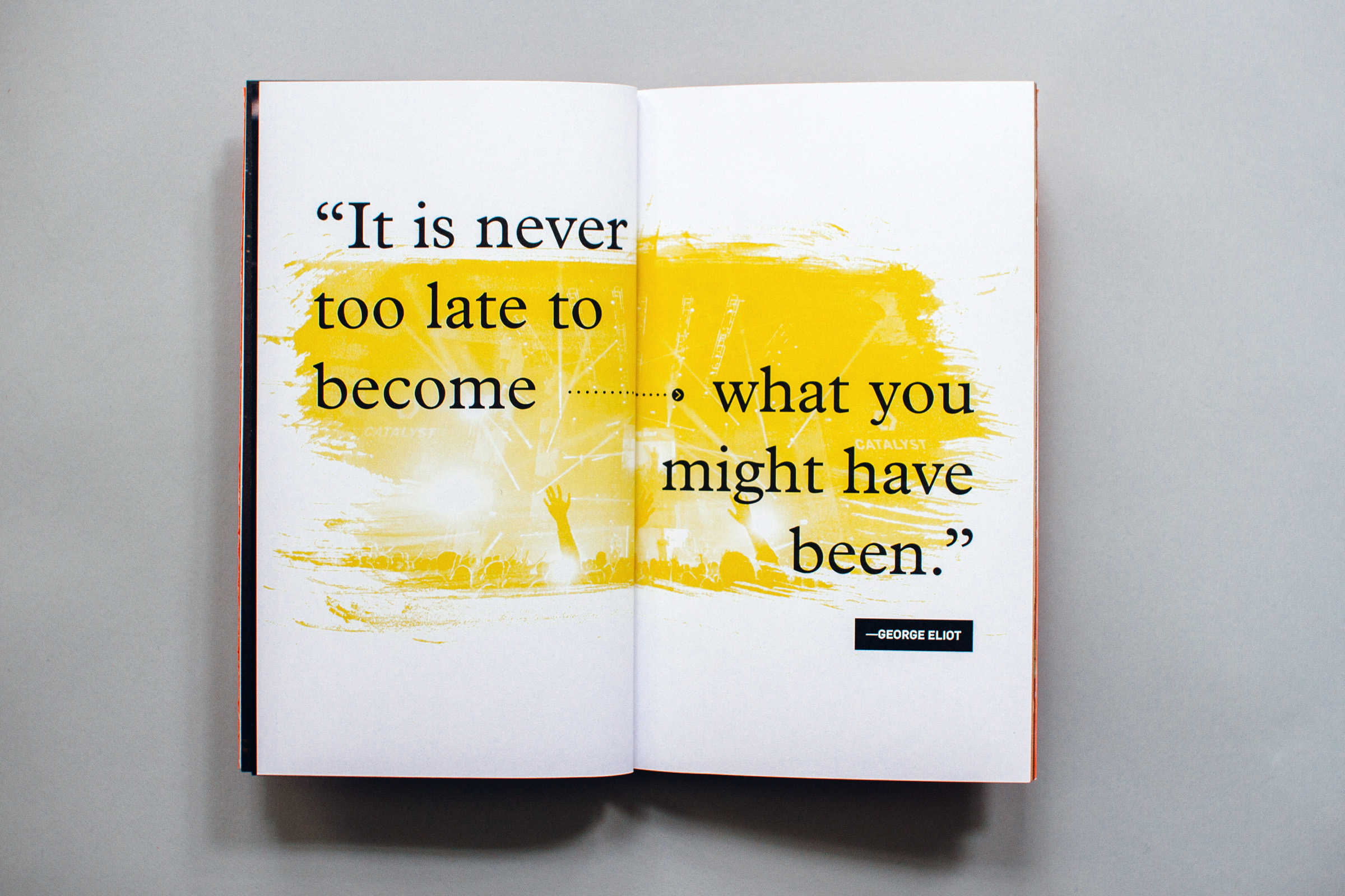 it is never too late to become what you might have been