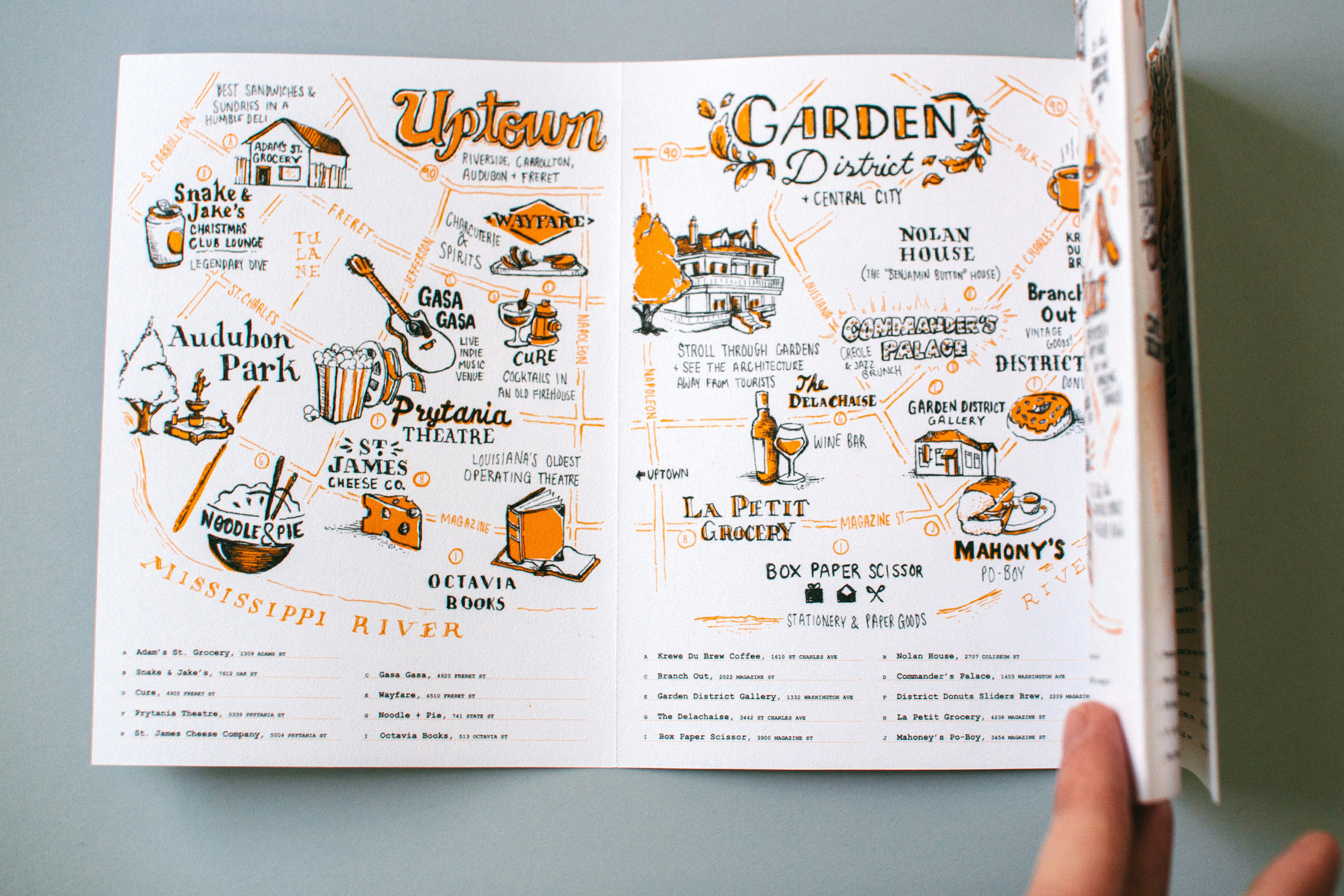 Revealing the New Orleans illustrated maps