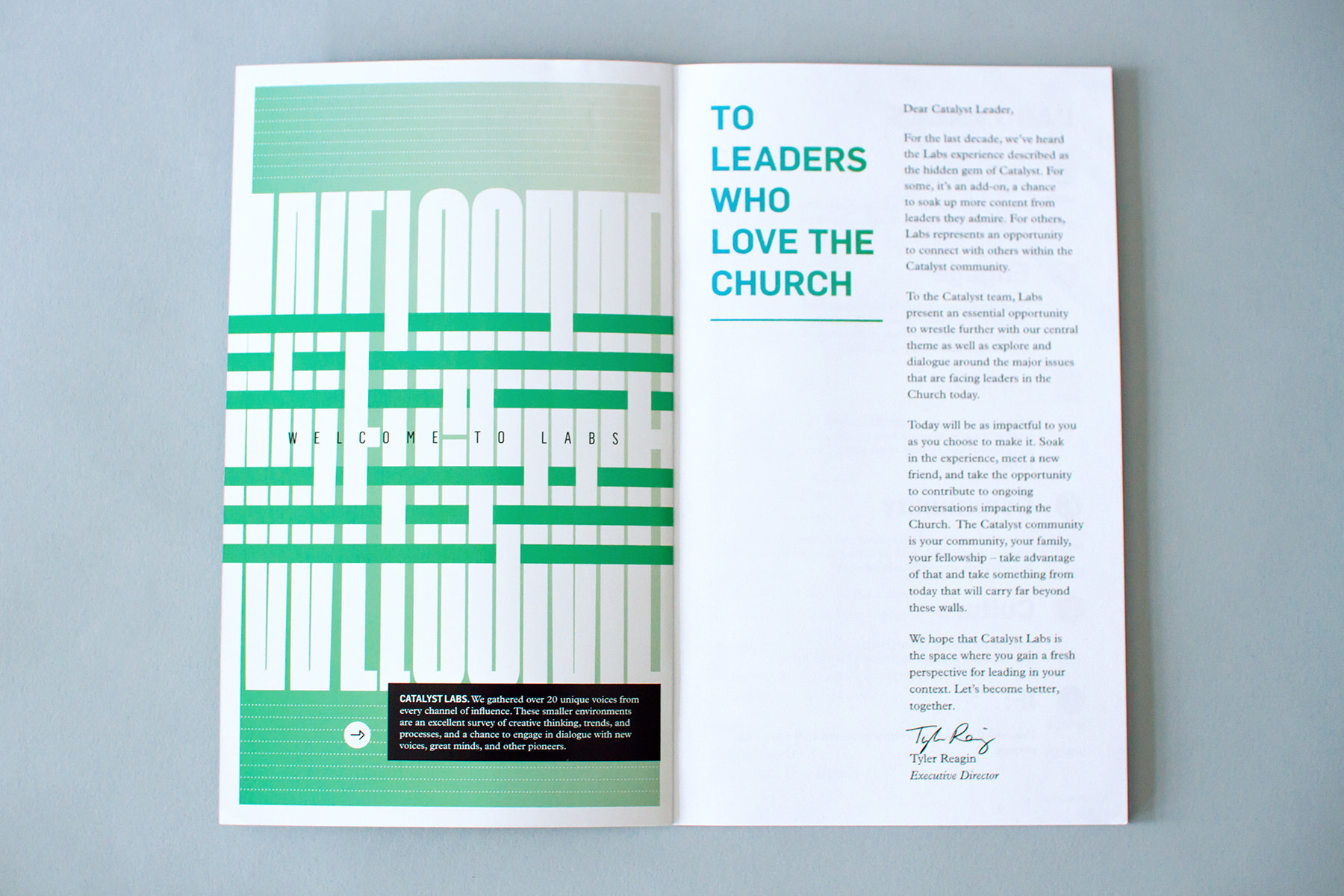 catalyst welcome to labs editorial design