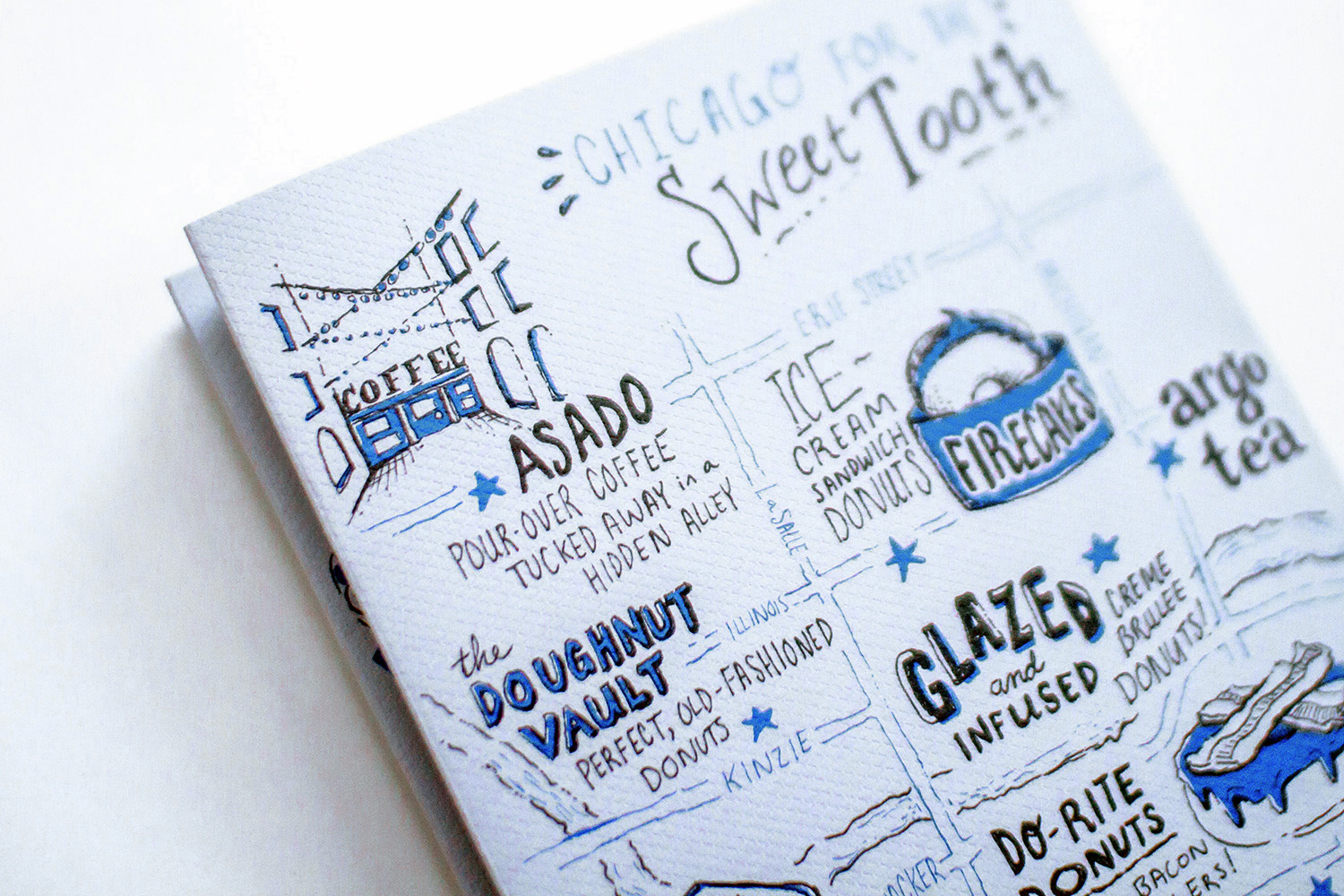 Neenah Presents chicago, sweet tooth map detail
