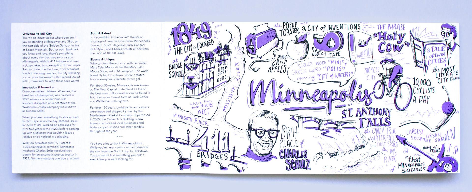 Neenah Minneapolis Illustration Fun Facts