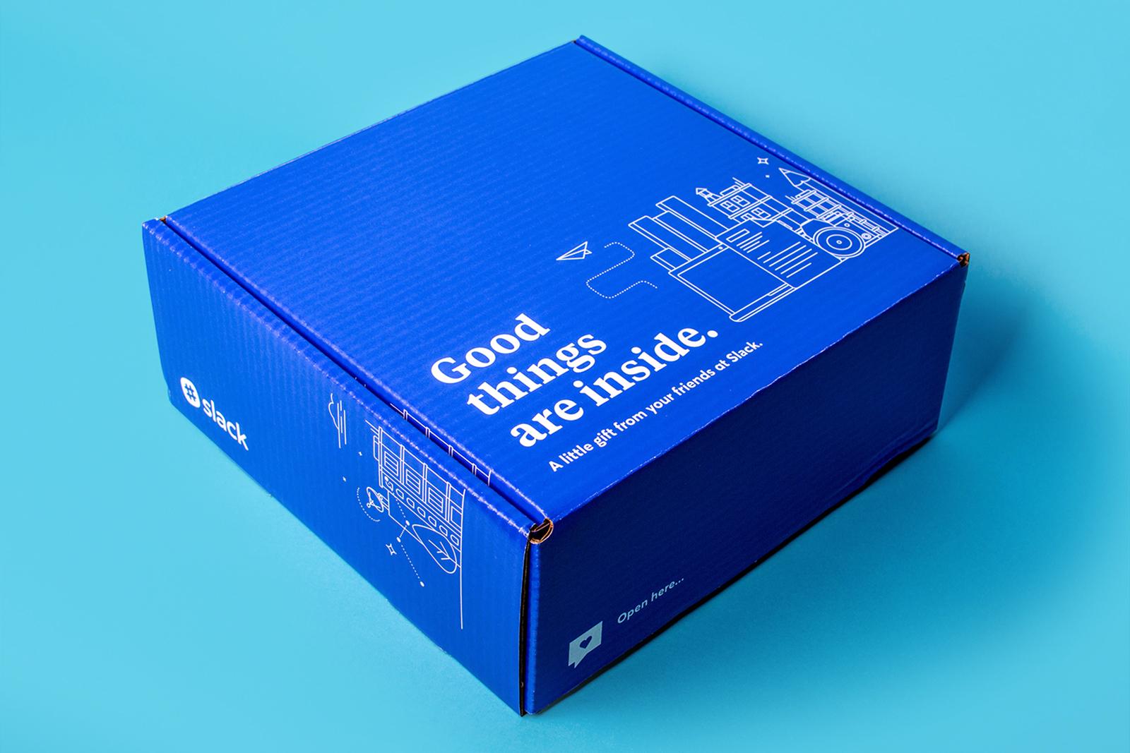 Slack customer love direct mail box - closed