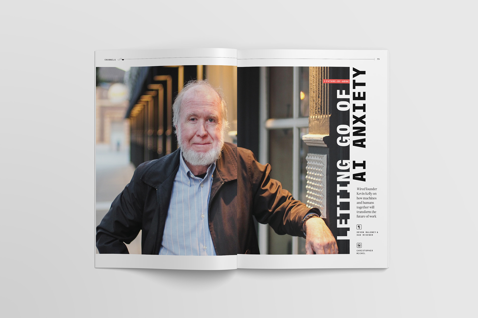 Kevin Kelly for Slack Channels magazine
