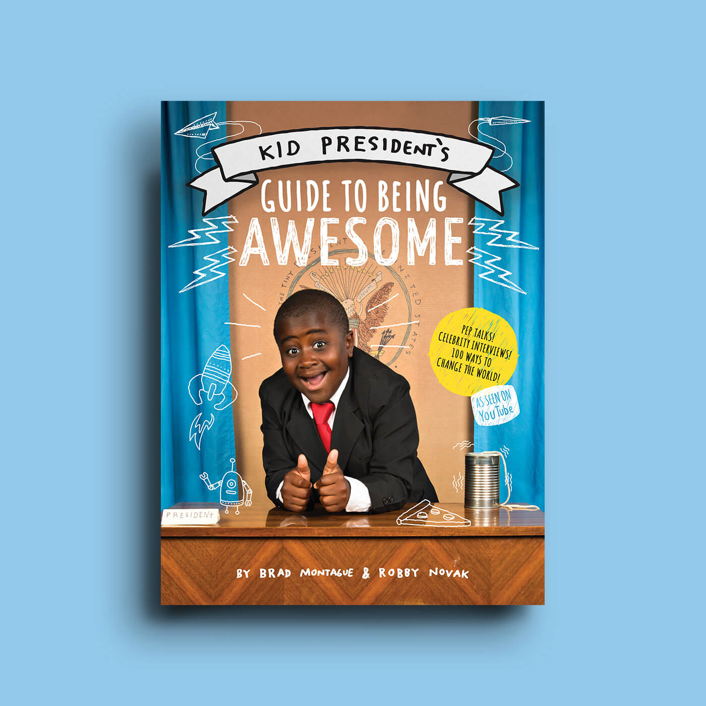 Kid President - The YouTube sensation brings his message of hope, and how kids can change the world, in this New York Times Best-Selling book.Design, Illustration