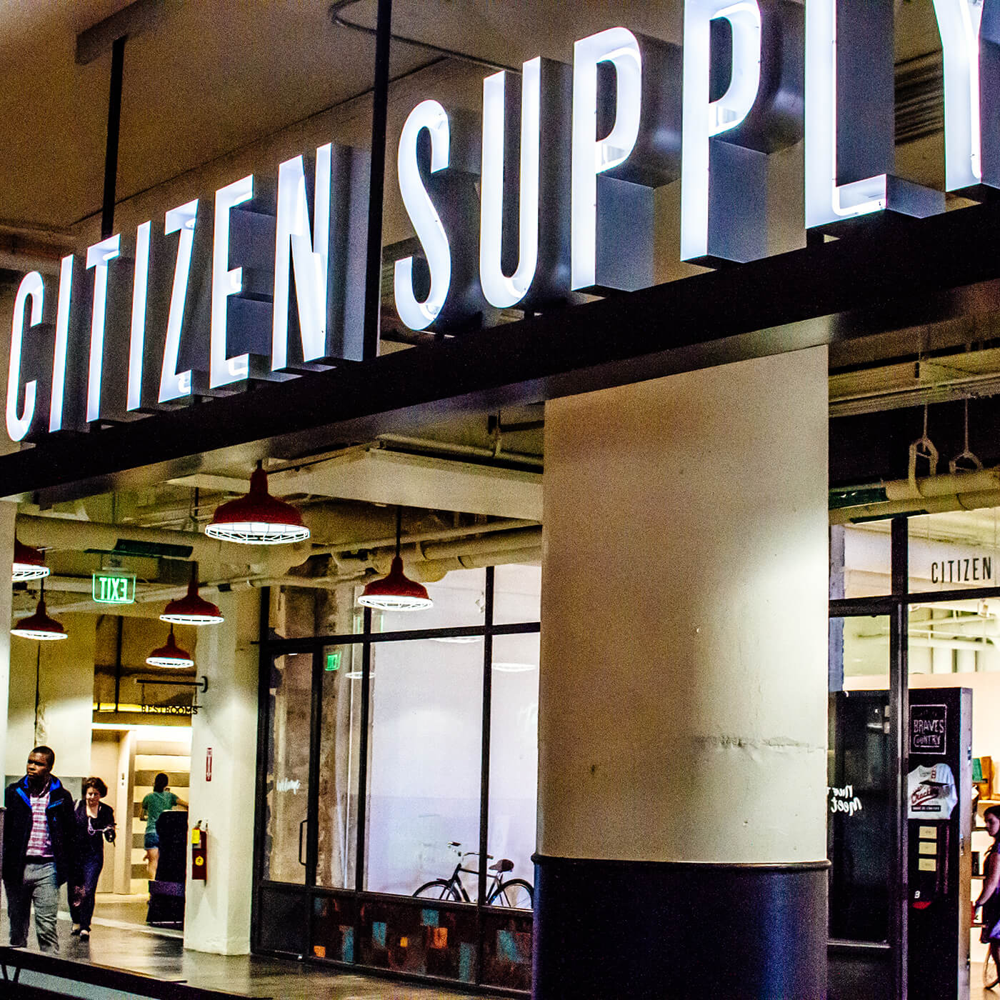 Citizen Supply - A marketplace in Ponce City Market that showcases local Atlanta artisans and makers.View Project →