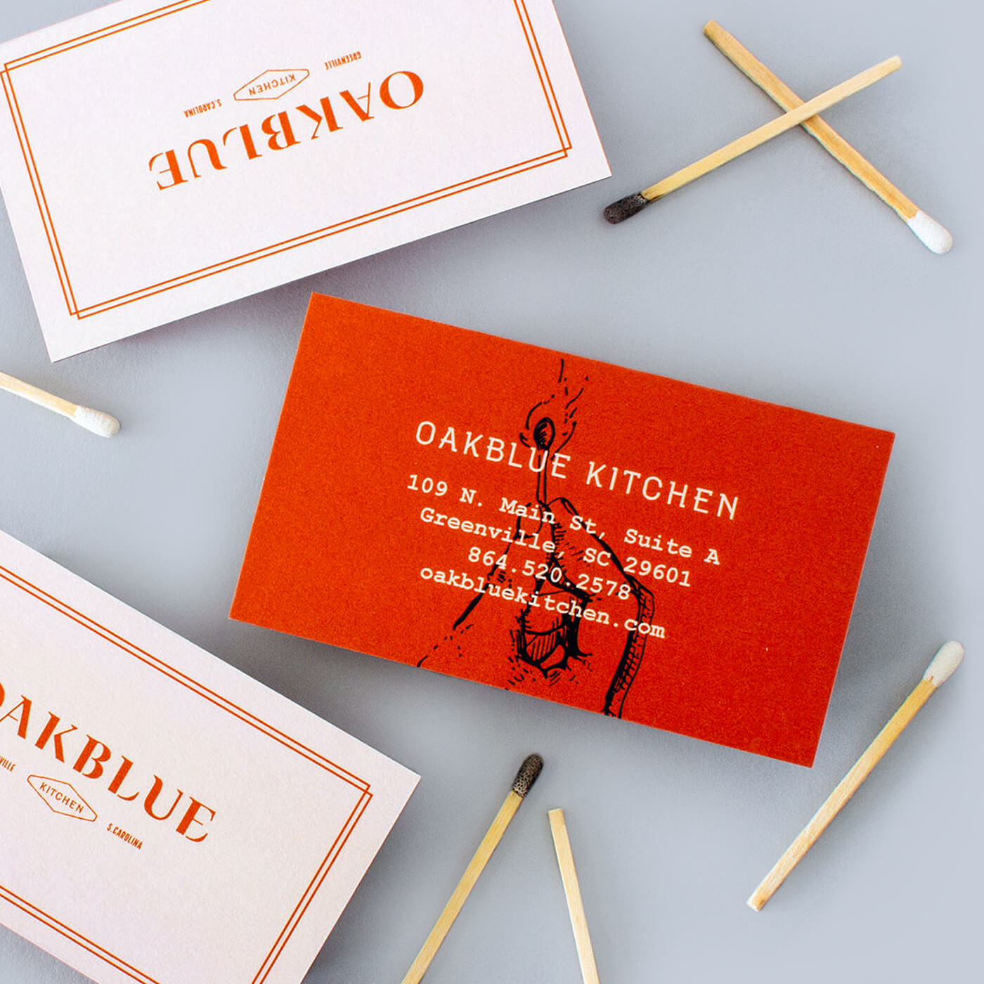 Oakblue Kitchen - Defining the identity of a fusion barbecue restaurant rooted in the South and in its Korean culinary heritage.View Project →