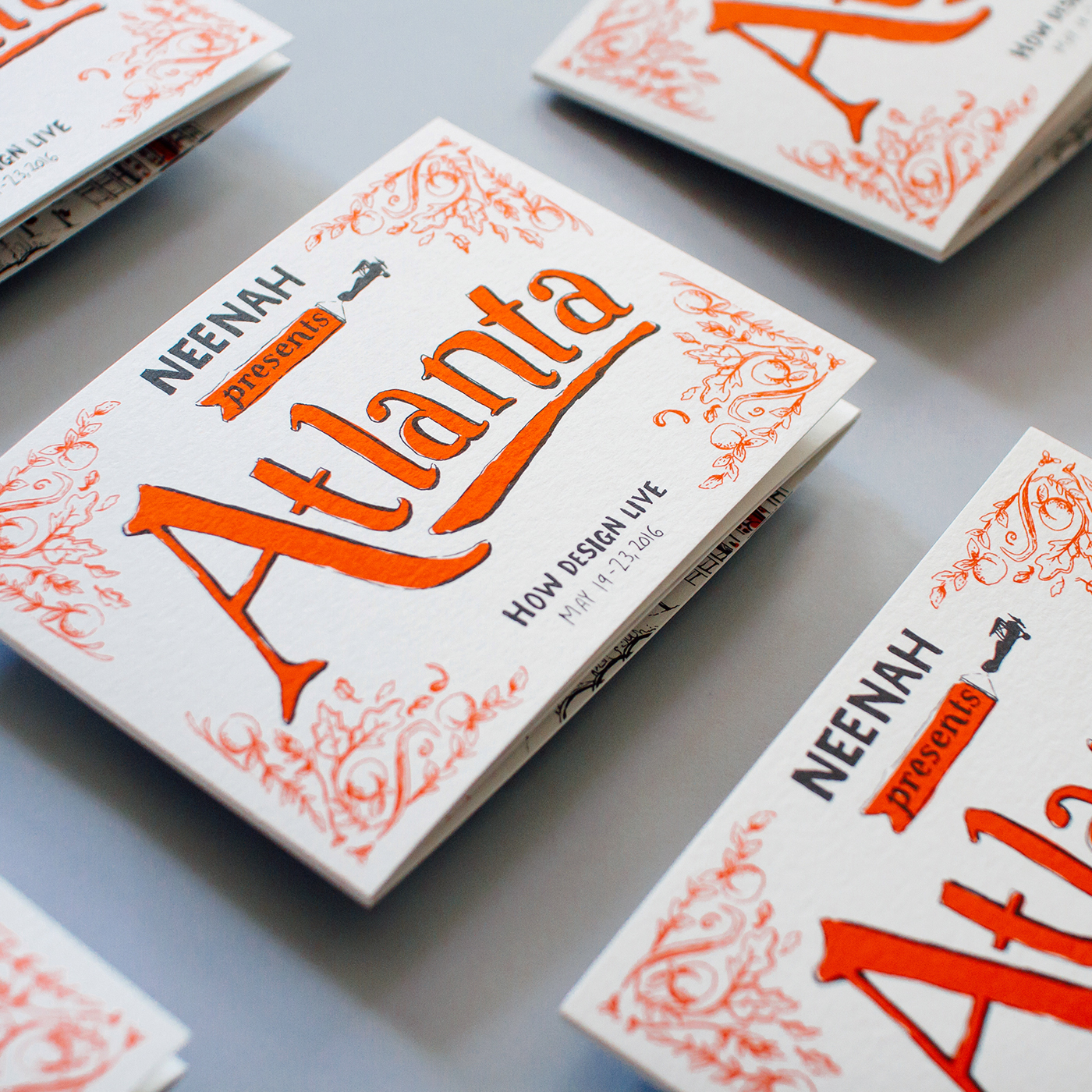 Neenah Presents Atlanta - An illustrated history of the Empire State of the South, with maps and guides to popular destinations around Atlanta's neighborhoods.