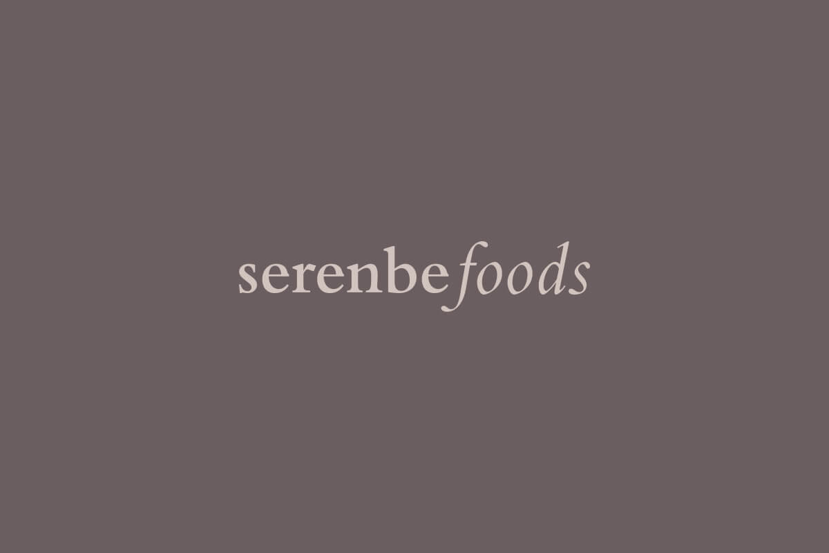 Serenbe Foods logo design