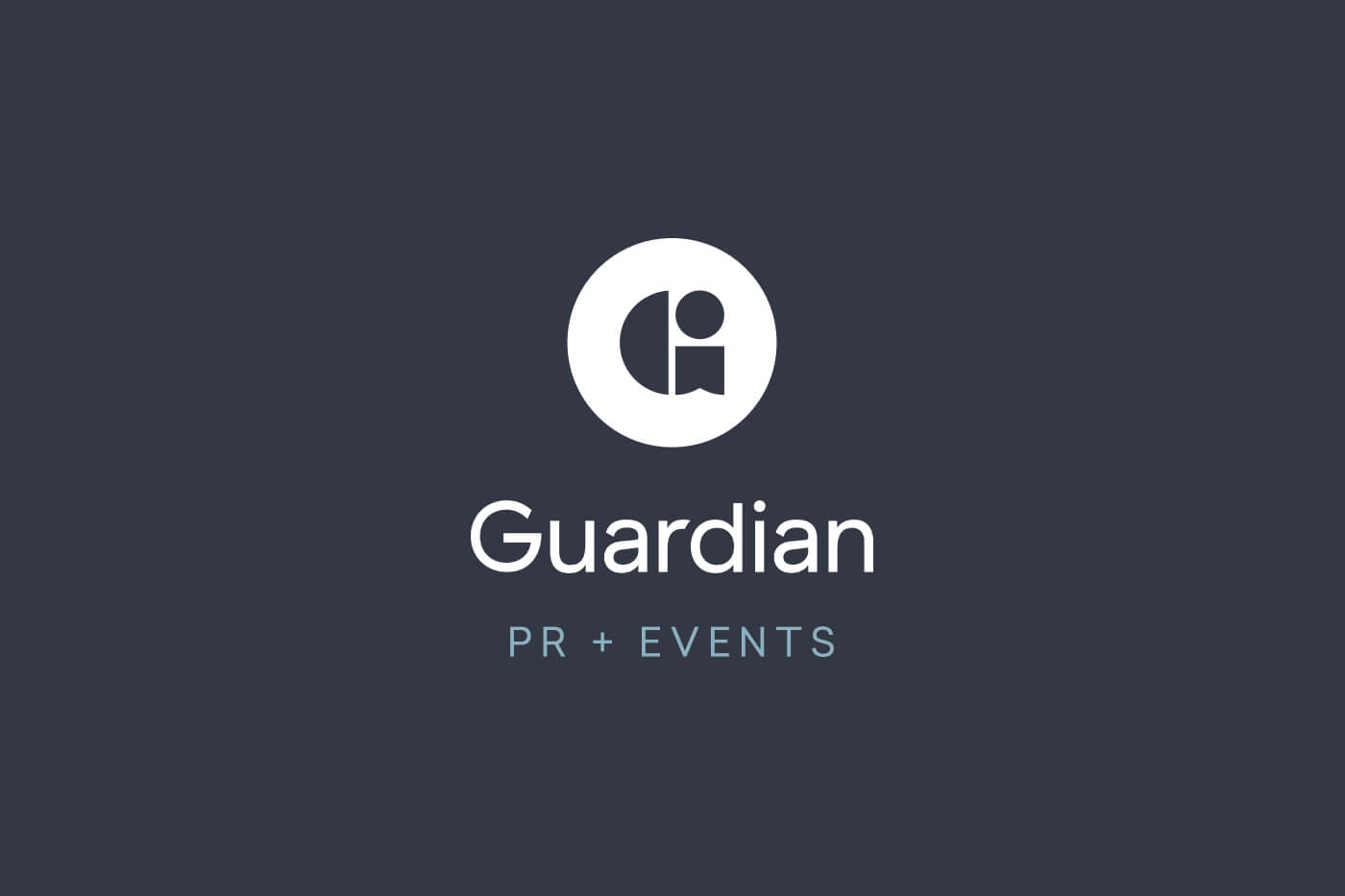 Guardian Public Relations and Events firm in Atlanta logo design