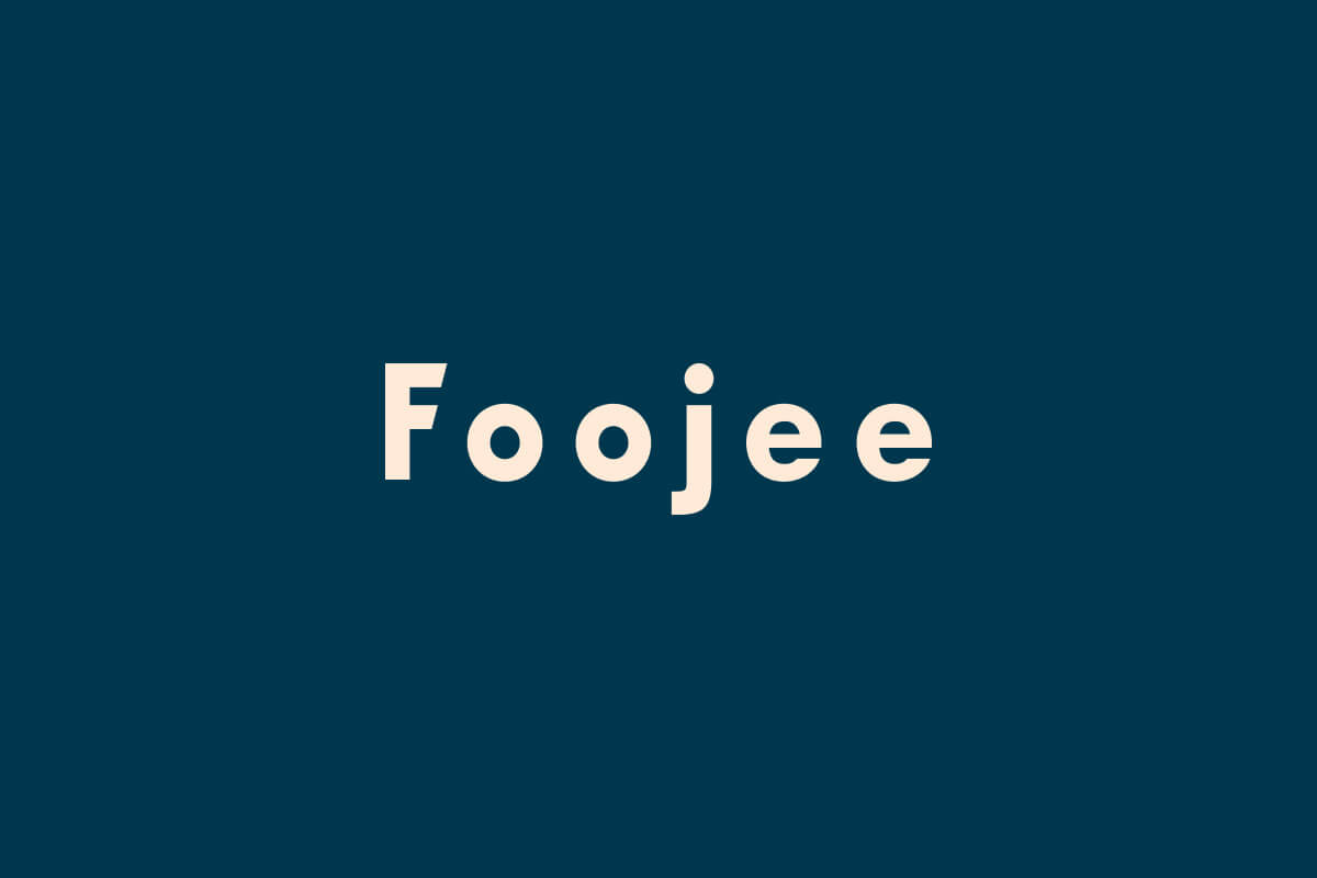 Foojee Apple IT consultants logo in Atlanta logo design