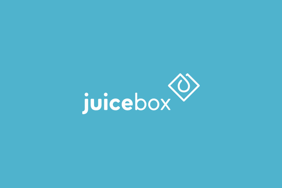 Juicebox logo design for an analytics company in Atlanta